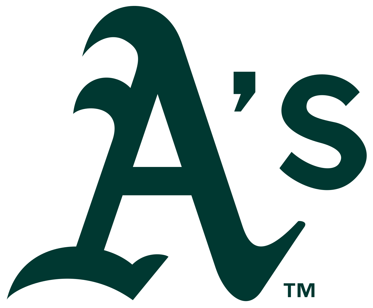 oakland athletics logo 3 - Oakland Athletics Logo