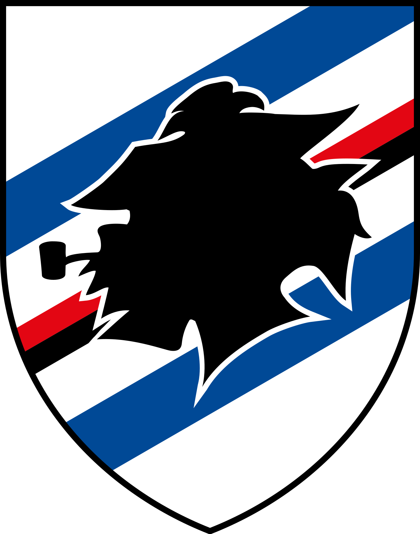 sampdoria logo 2 - UC Sampdoria Logo