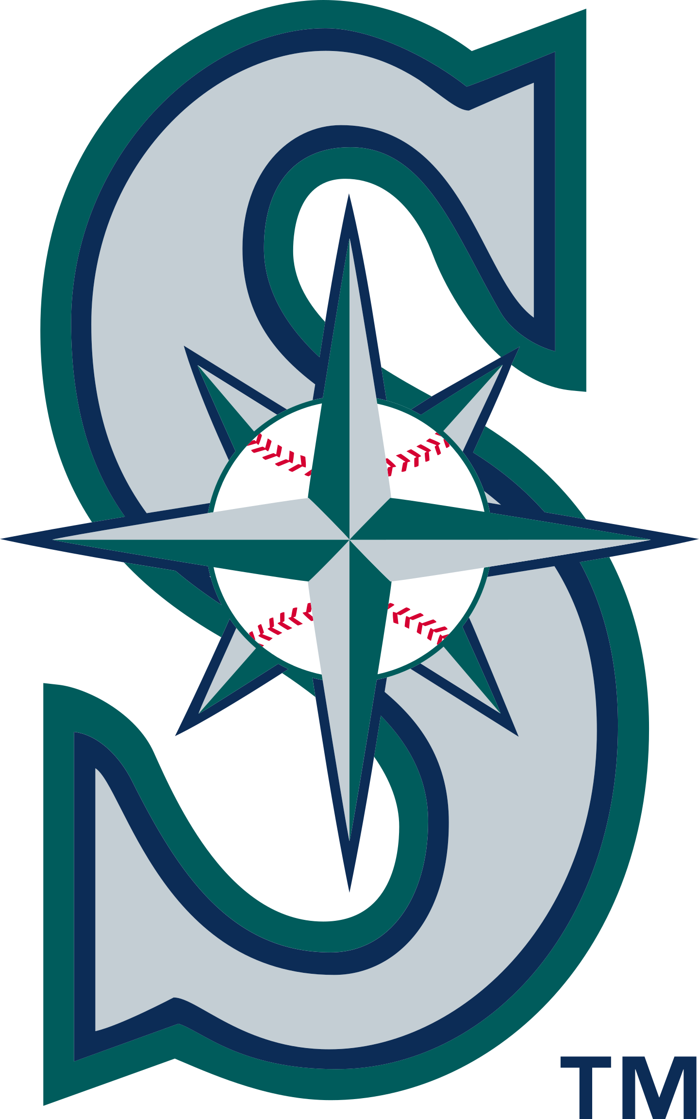 seattle mariners logo 2 - Seattle Mariners Logo
