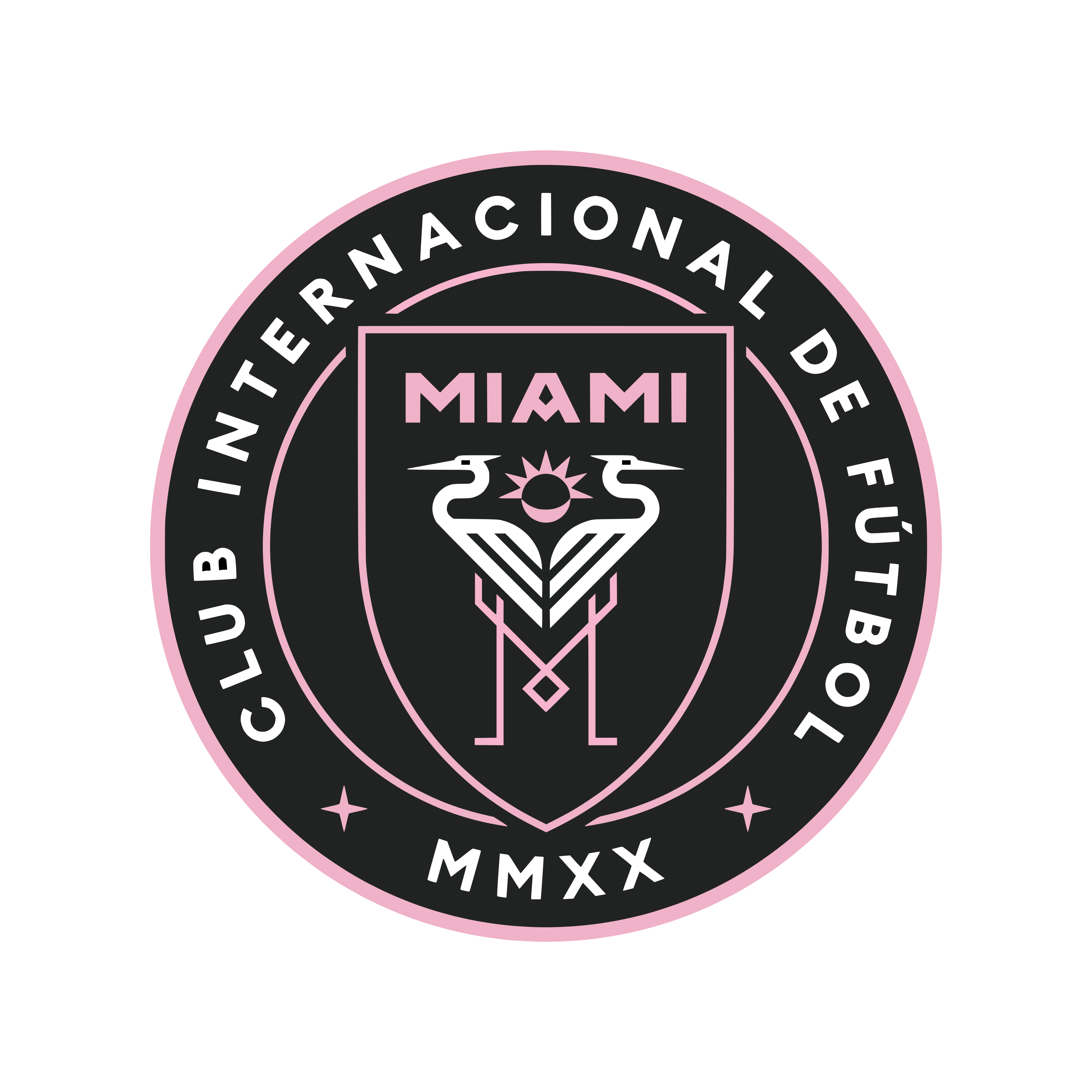 Inter miami cf logo 0 - Inter Miami CF Logo