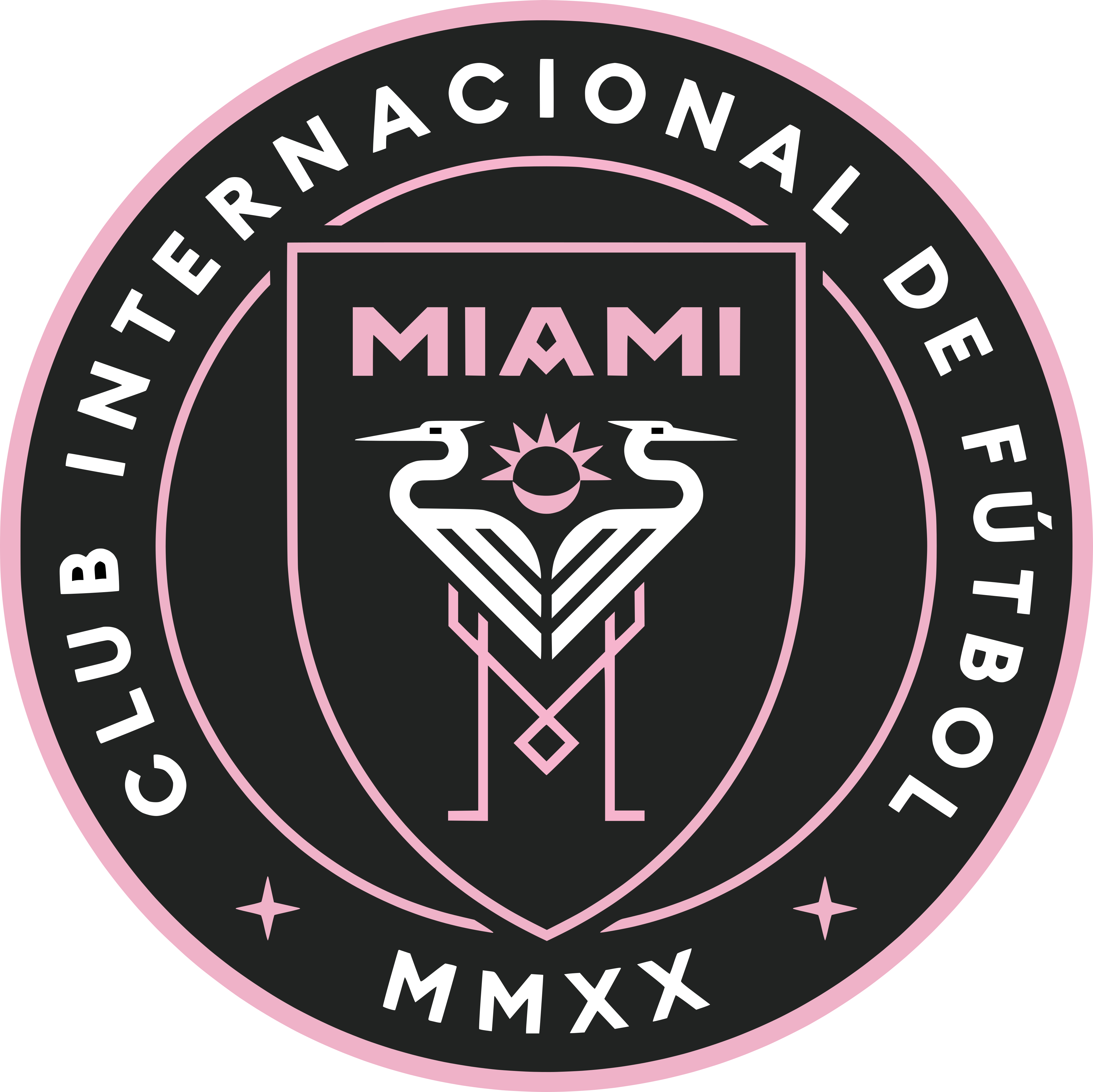 Inter Miami CF Logo.