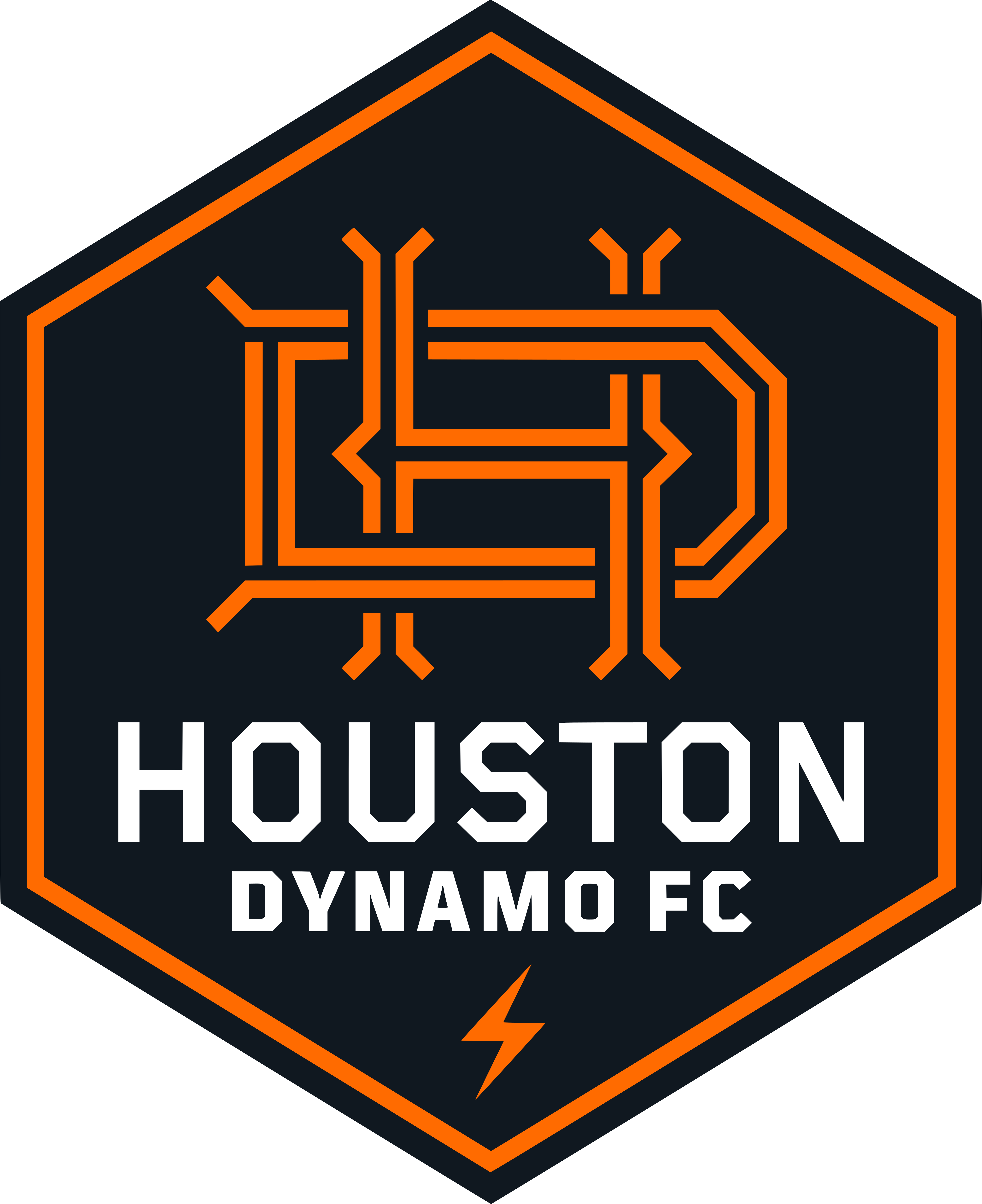 houston dynamo fc logo - Houston Dynamo Logo