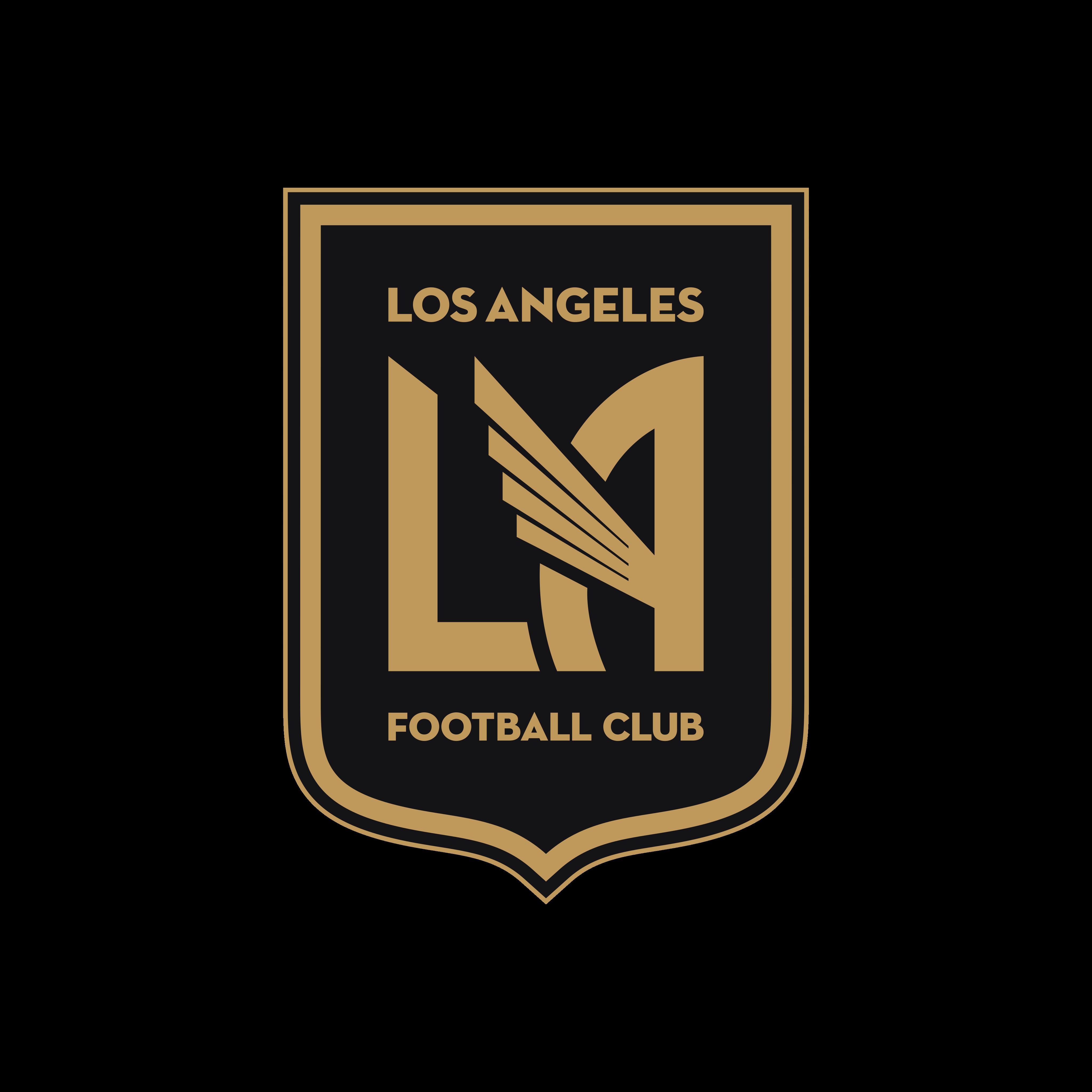 los angeles fc logo 0 - Los Angeles FC Logo