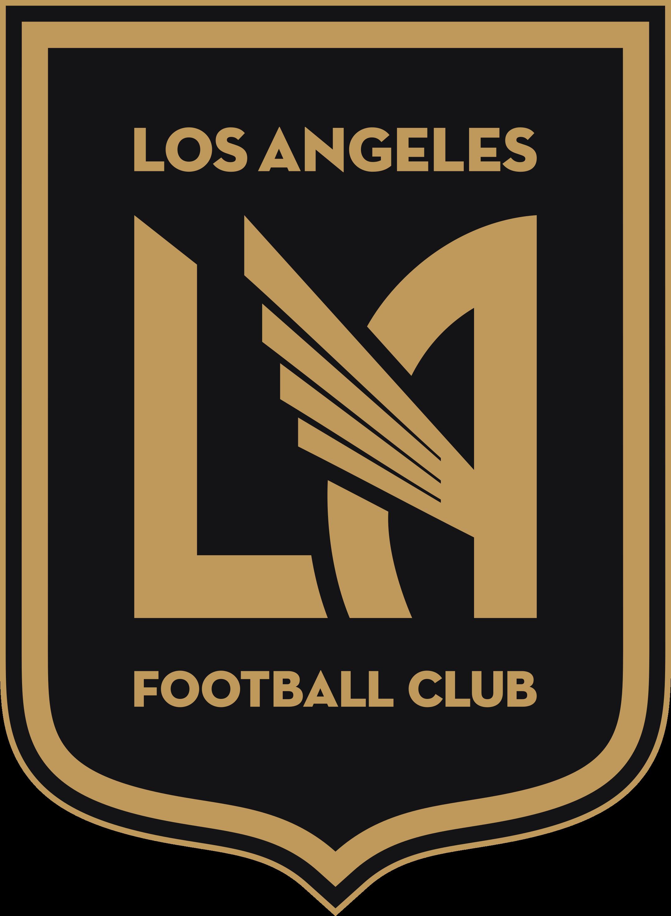 los angeles fc logo 1 - Los Angeles FC Logo
