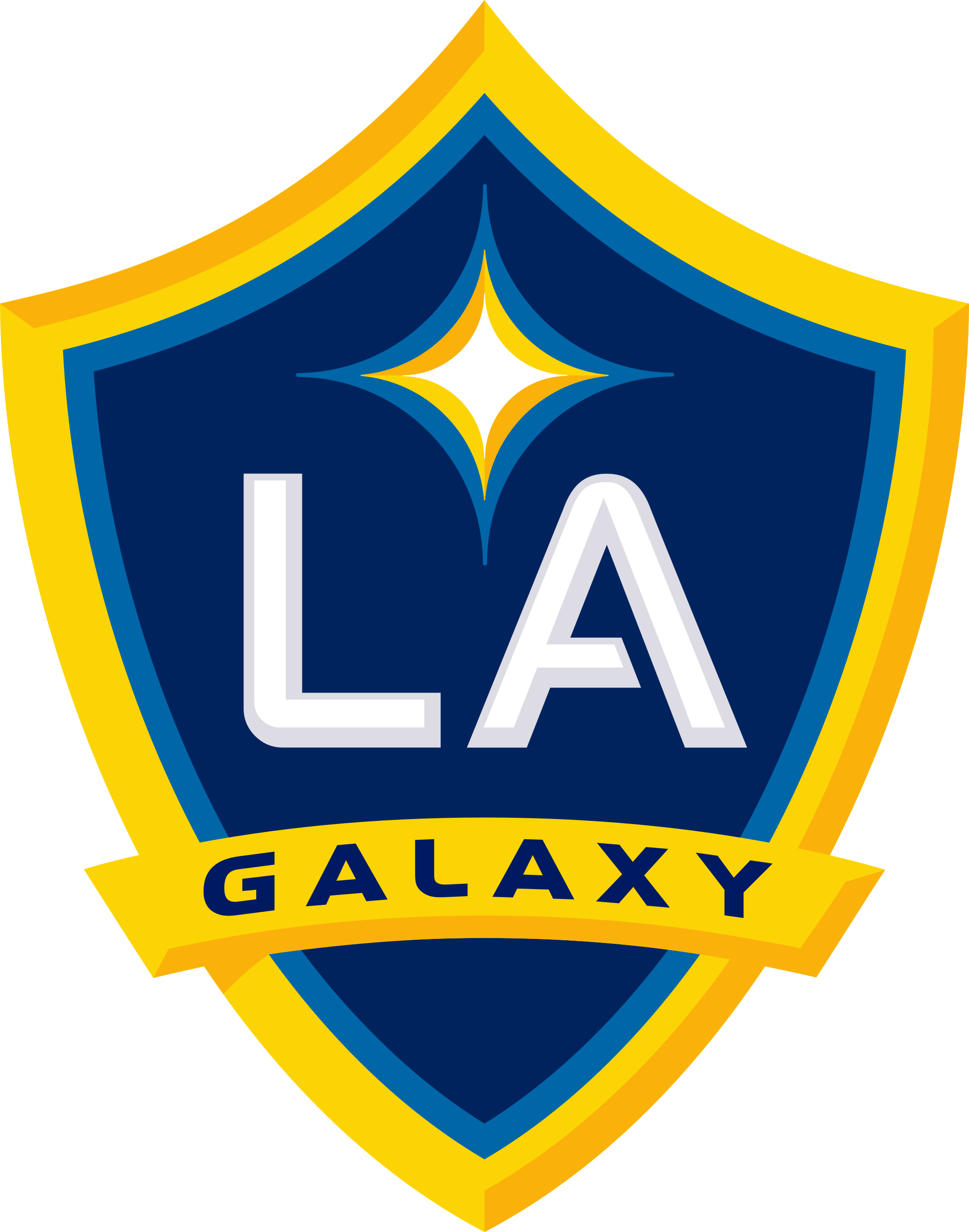 los angeles galaxy logo 1 - LA Galaxy Logo