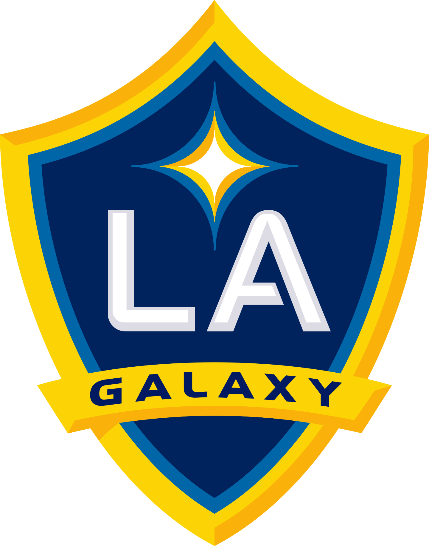 los angeles galaxy logo 2 - LA Galaxy Logo