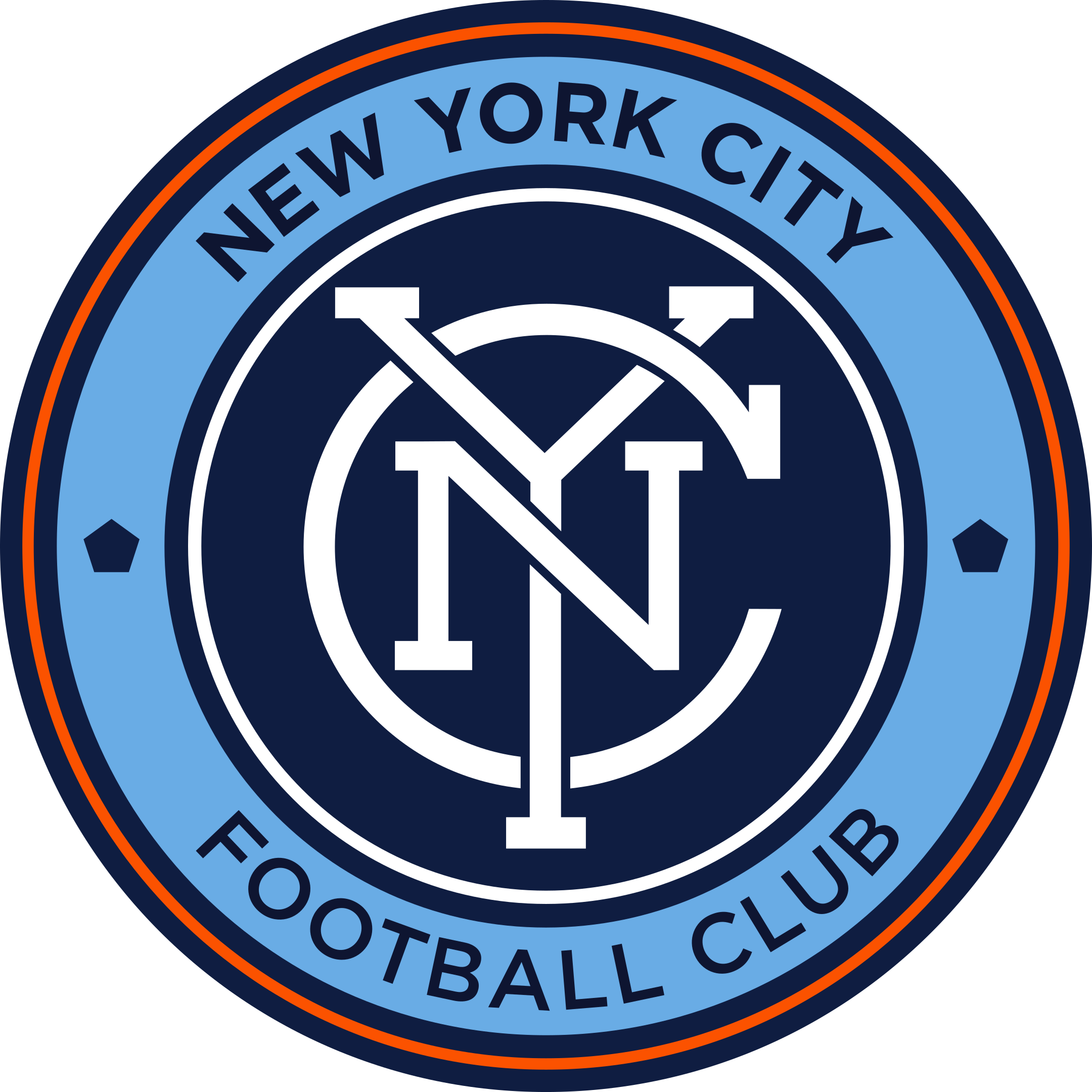 new york city fc logo 1 - New York City FC Logo