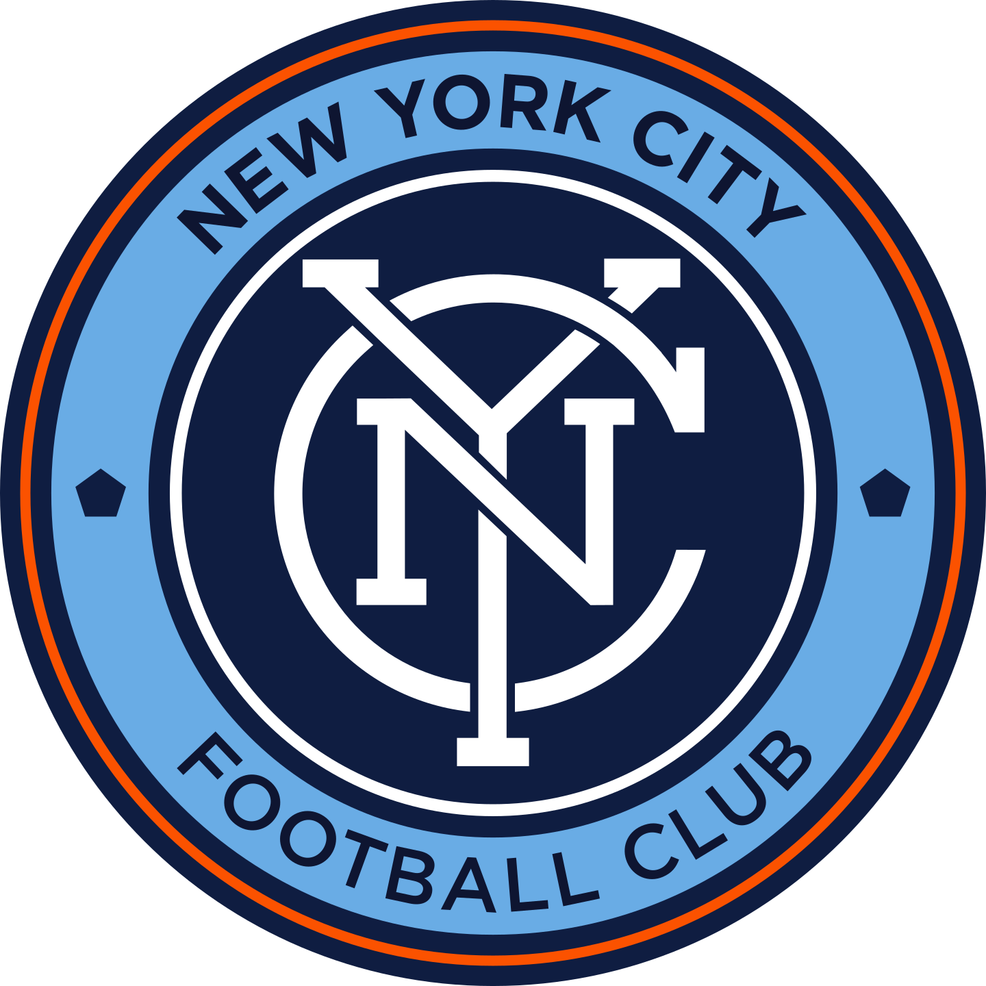 new york city fc logo 2 - New York City FC Logo