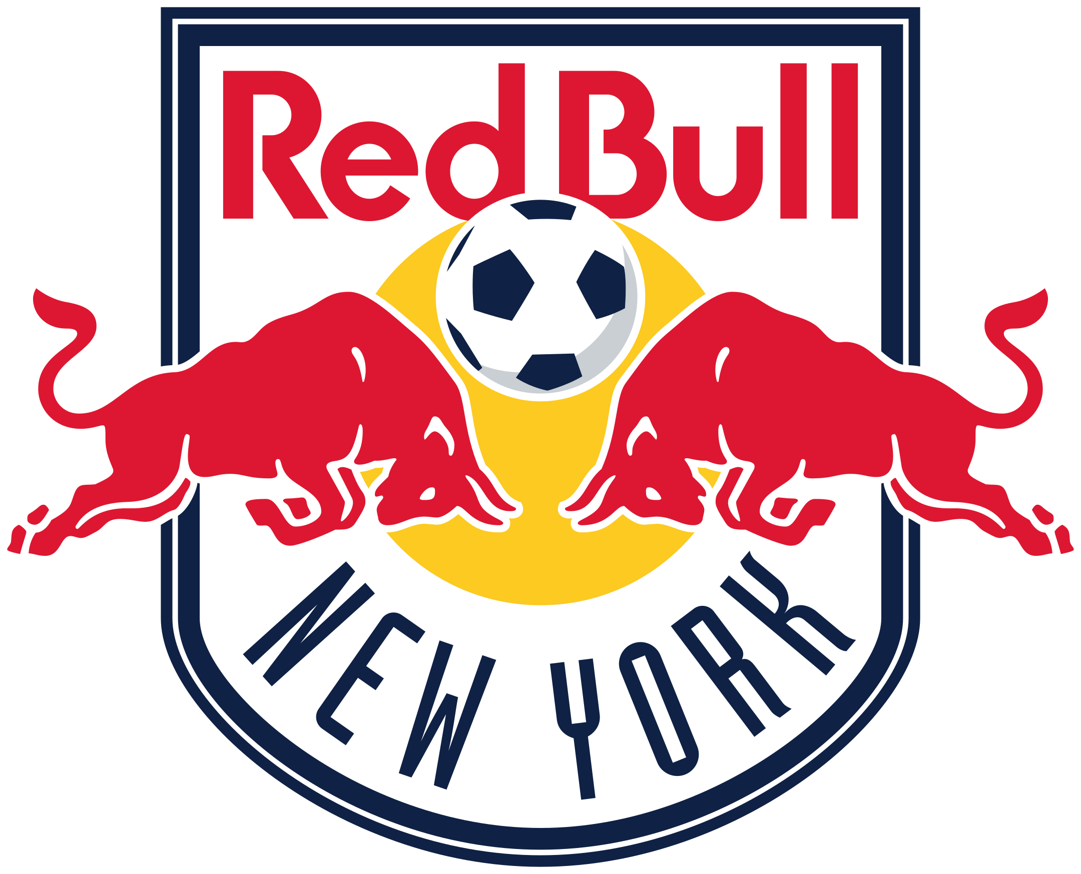 new york red bulls logo 1 - New York Red Bulls Logo