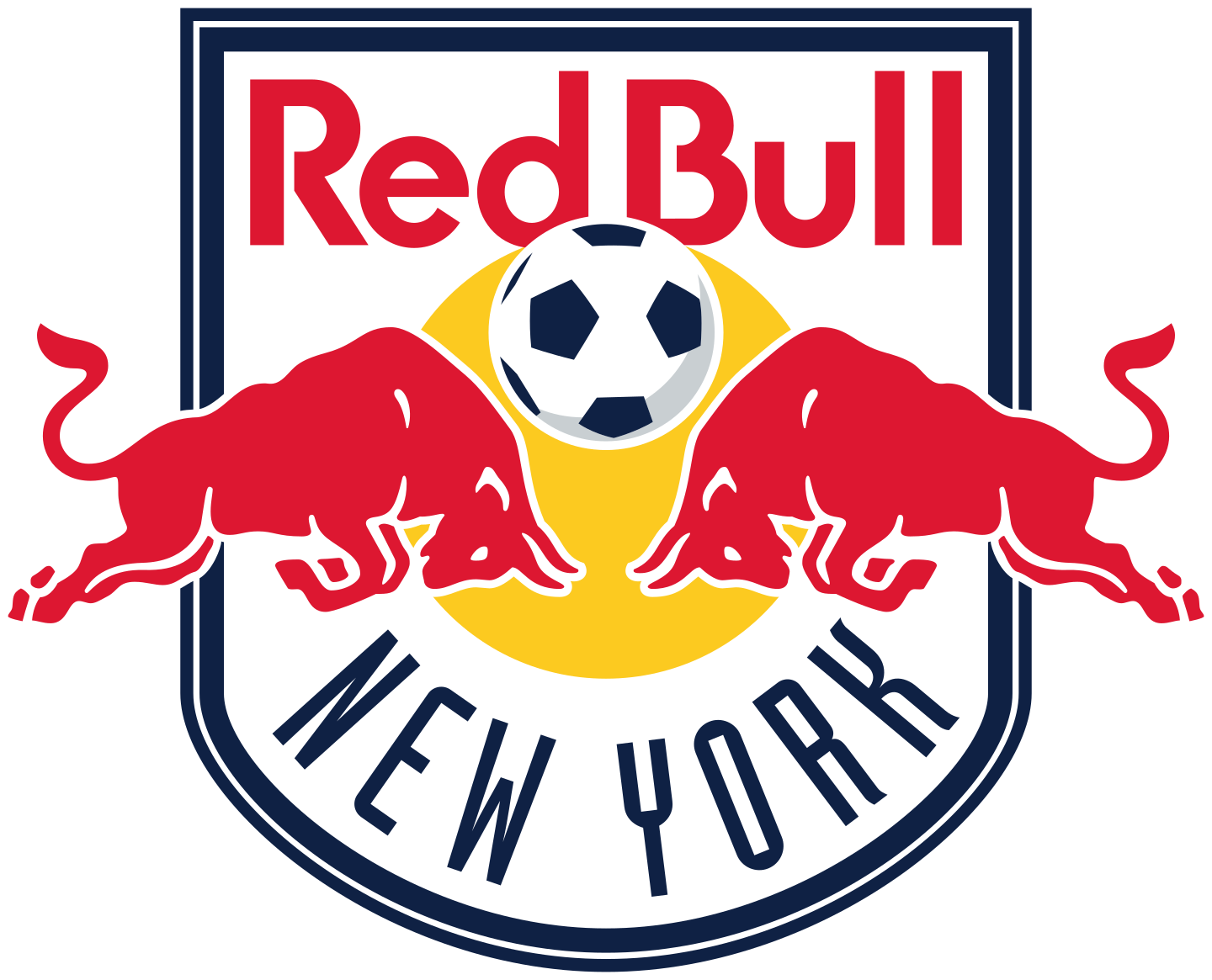 new york red bulls logo 2 - New York Red Bulls Logo