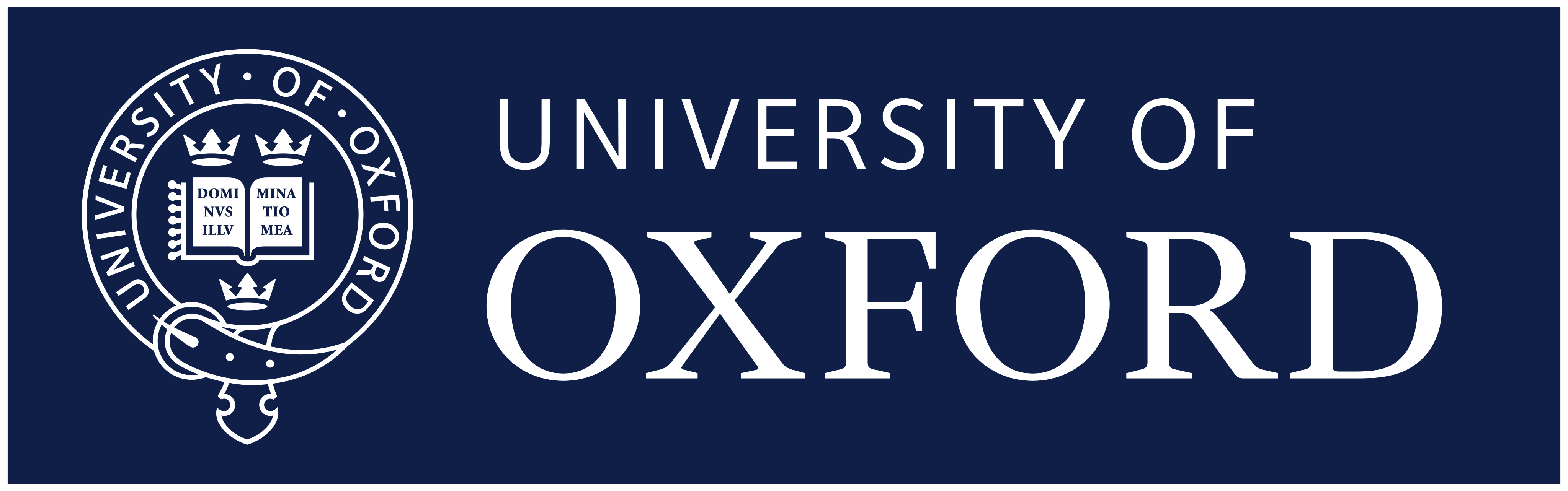 Universidade de Oxford Logo.