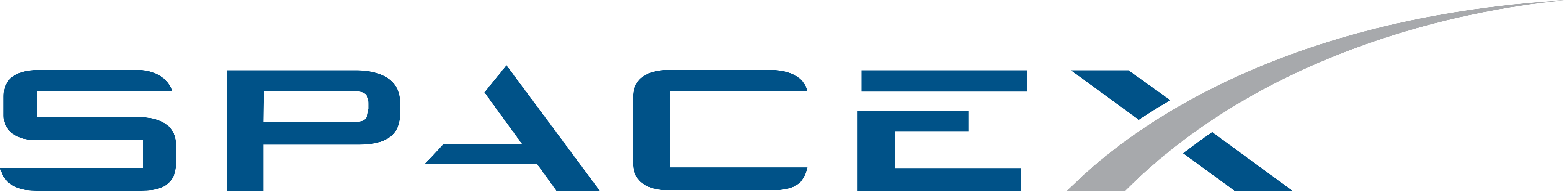 SpaceX Logo.