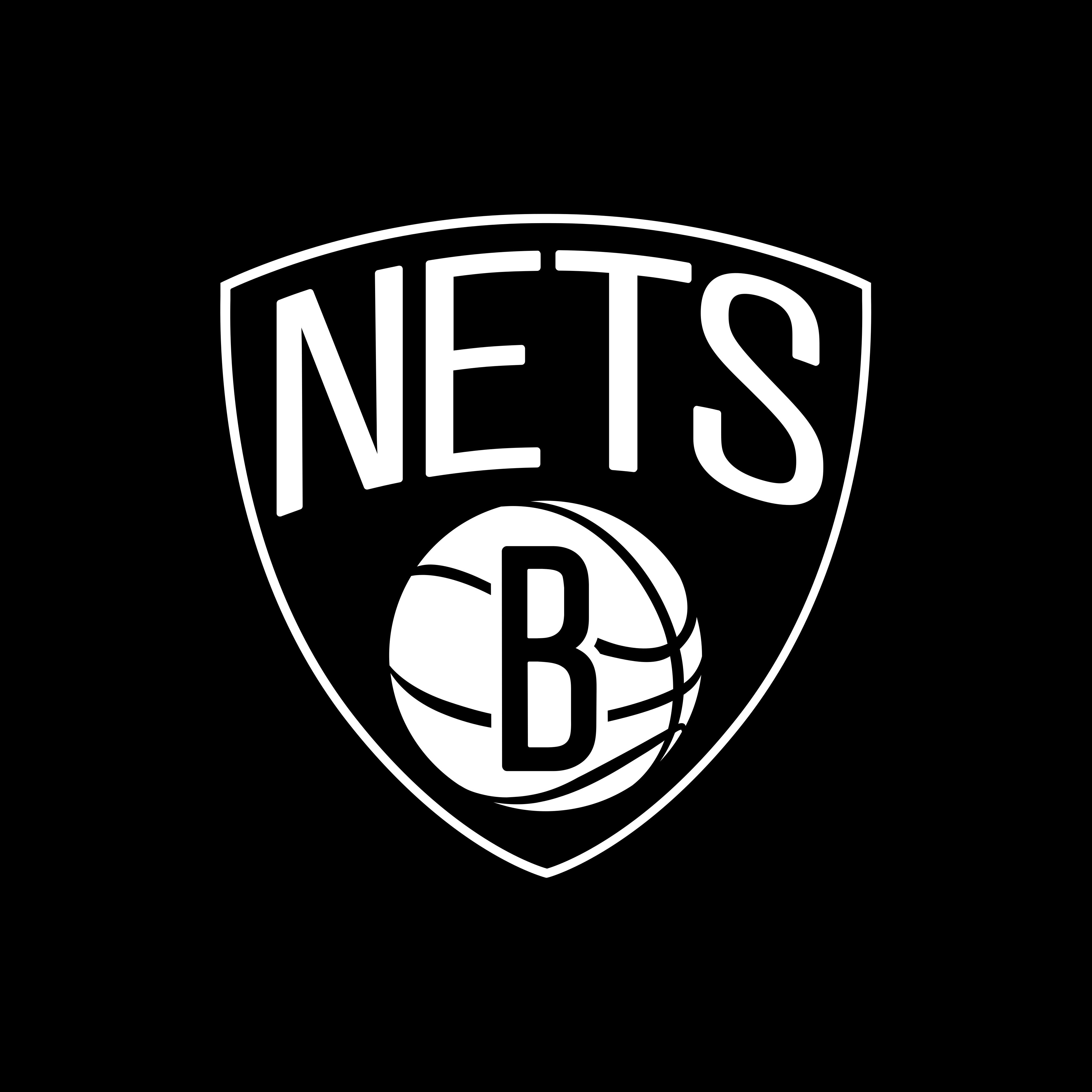 brooklyn nets logo 0 - Brooklyn Nets Logo