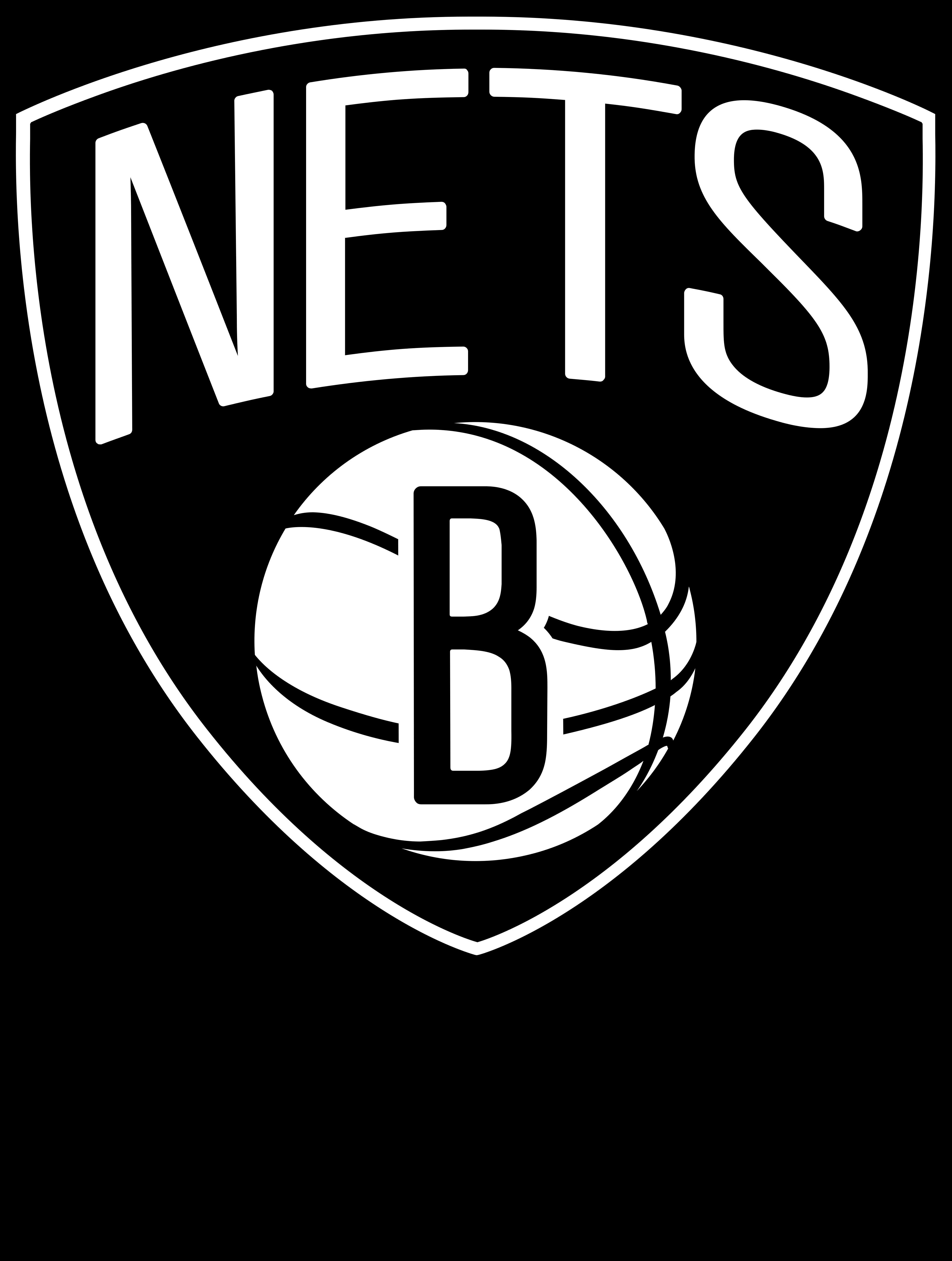 brooklyn nets logo 1 - Brooklyn Nets Logo