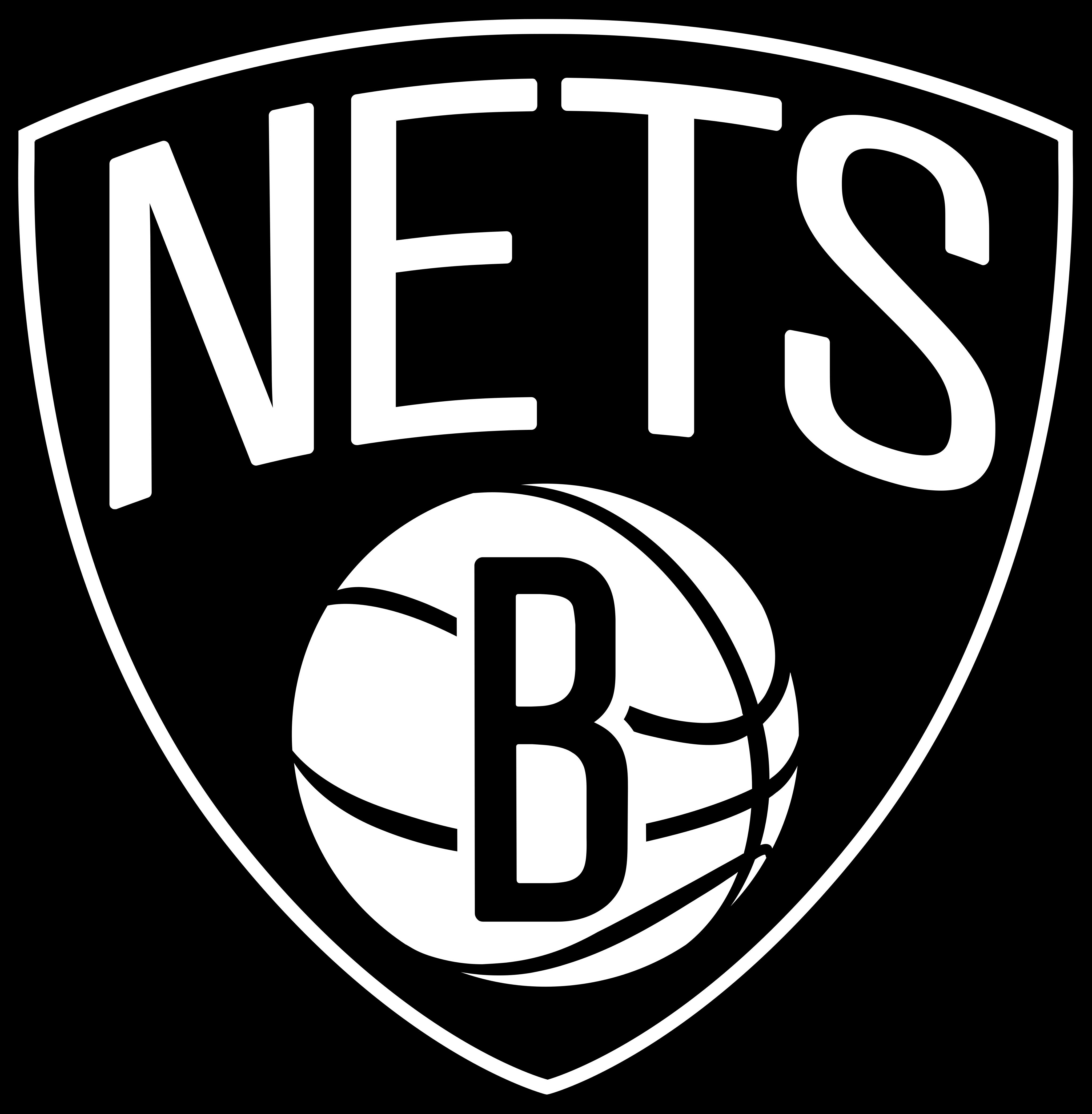 brooklyn nets logo 2 - Brooklyn Nets Logo