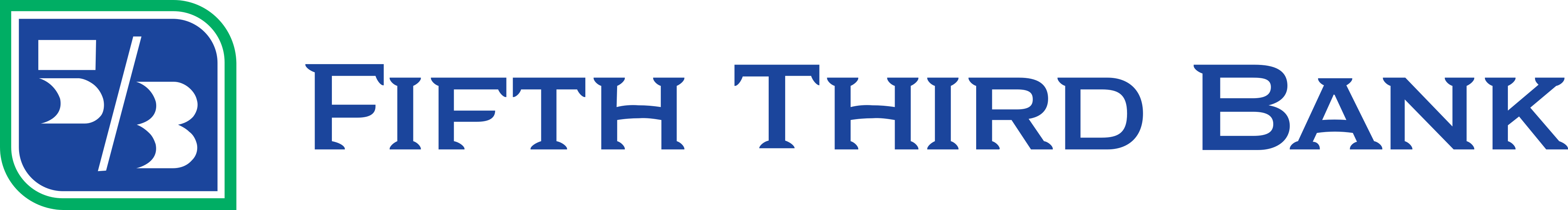 Fifth Third Bank Logo.