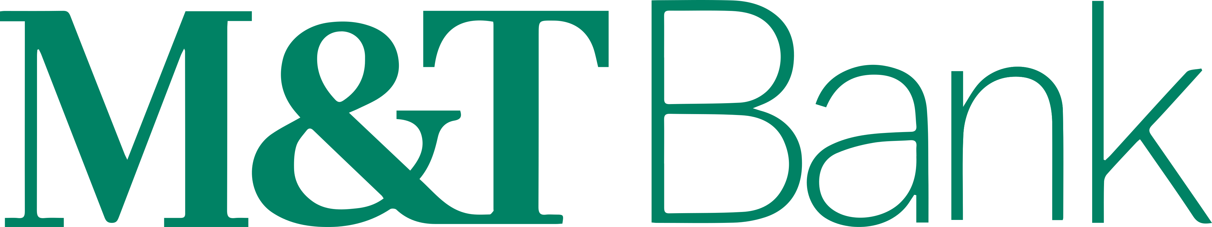 M&T Bank Logo.