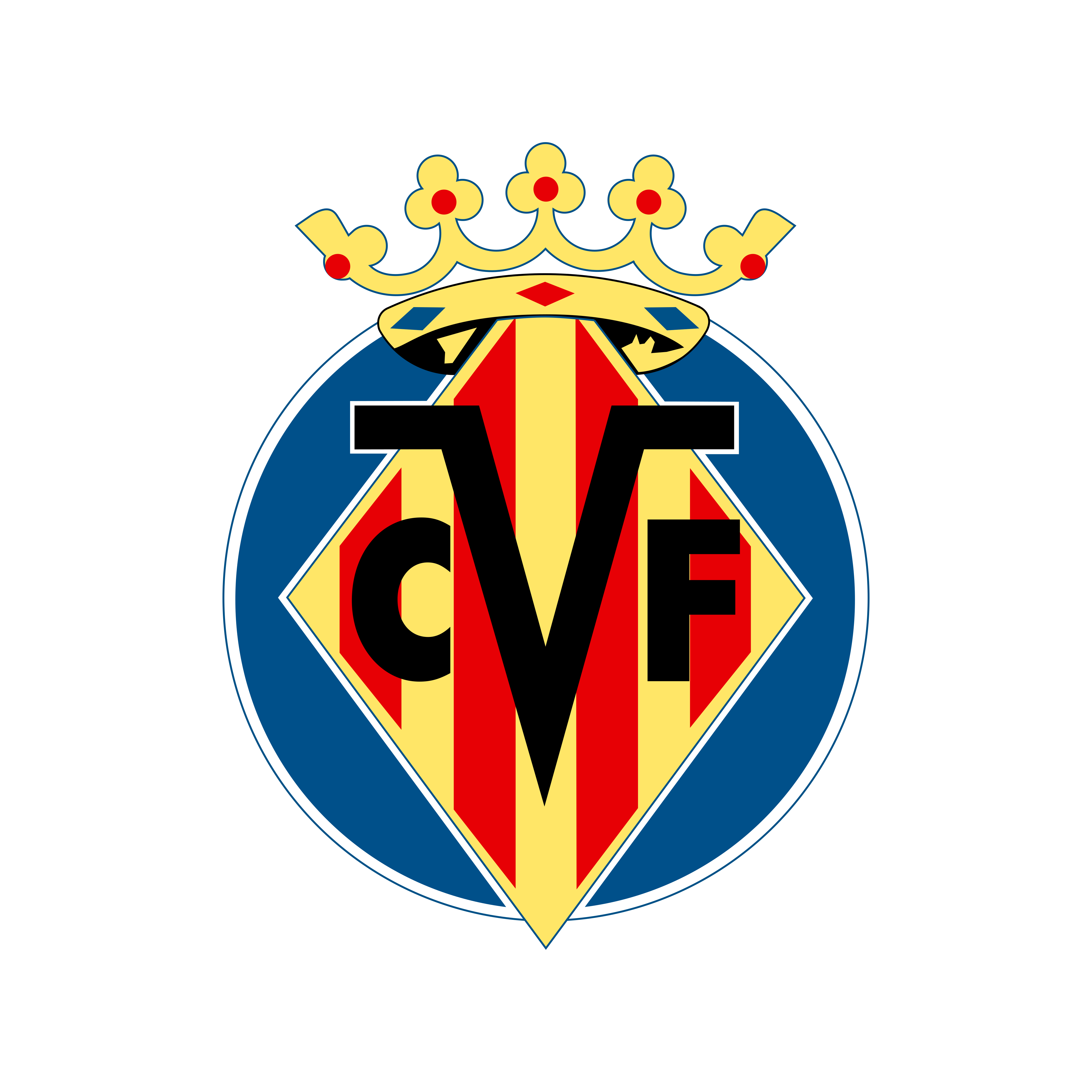 villarreal cf logo 0 - Villarreal CF Logo