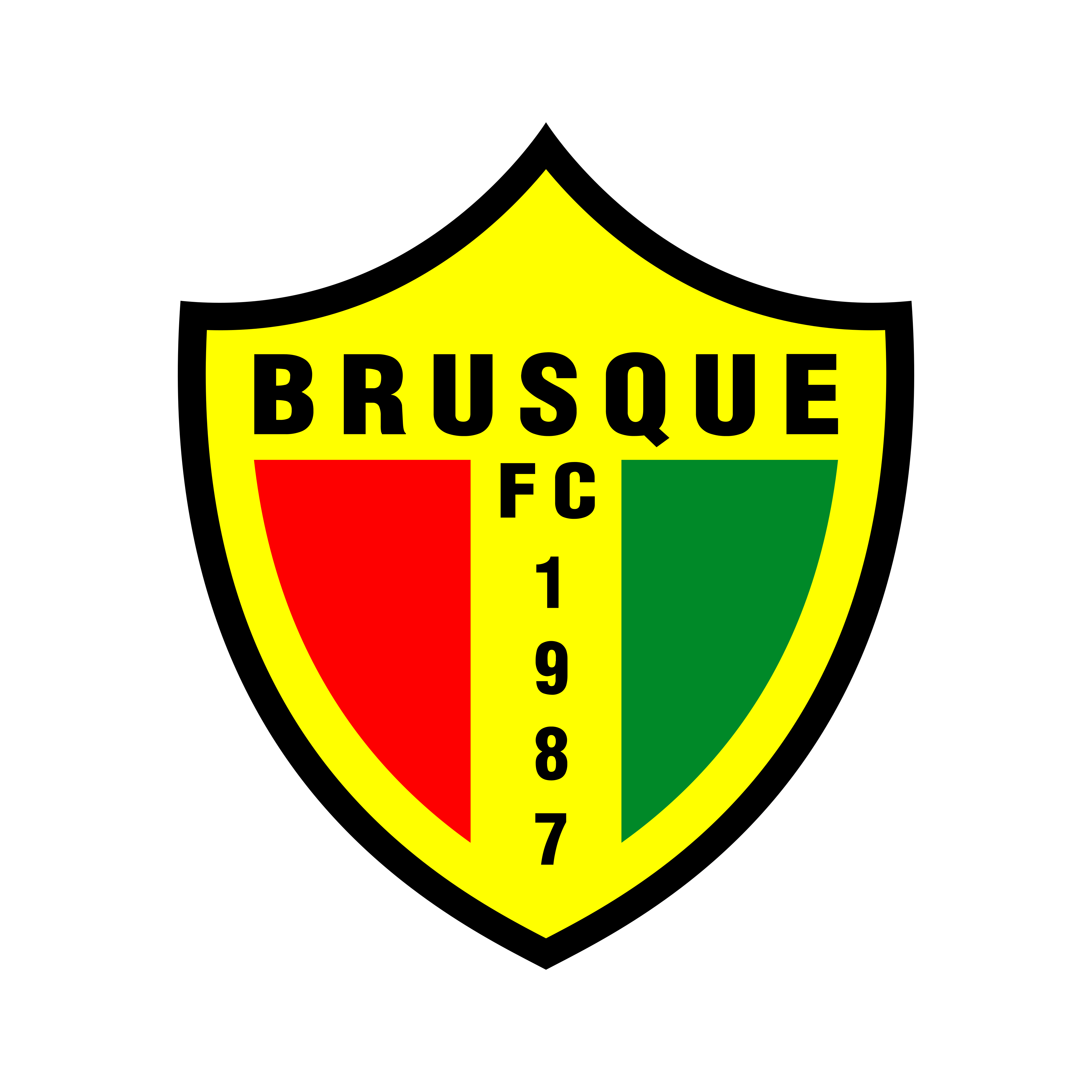 brusque fc logo 0 - Brusque FC Logo (Brazil)