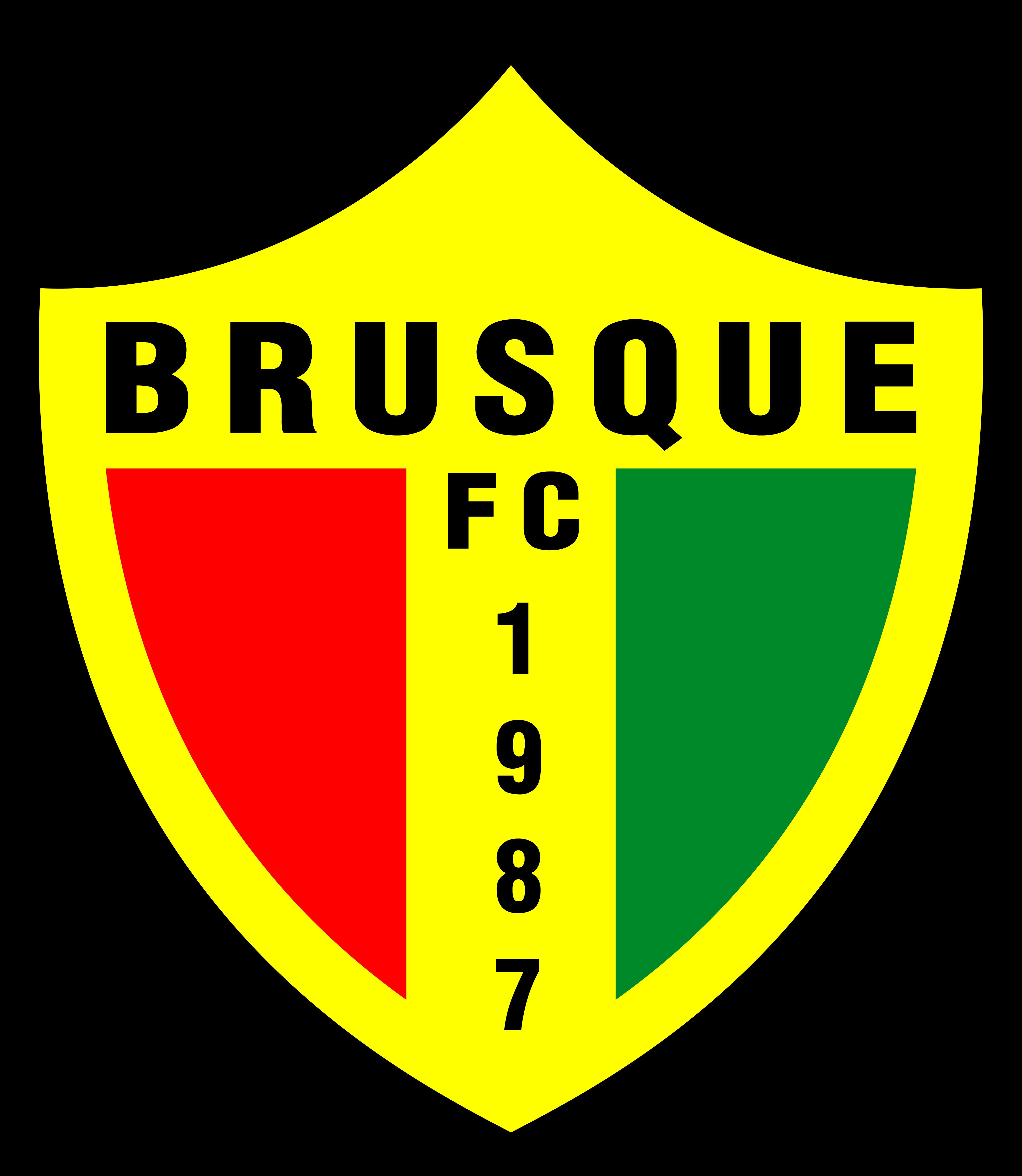 brusque fc logo 1 - Brusque FC Logo (Brazil)