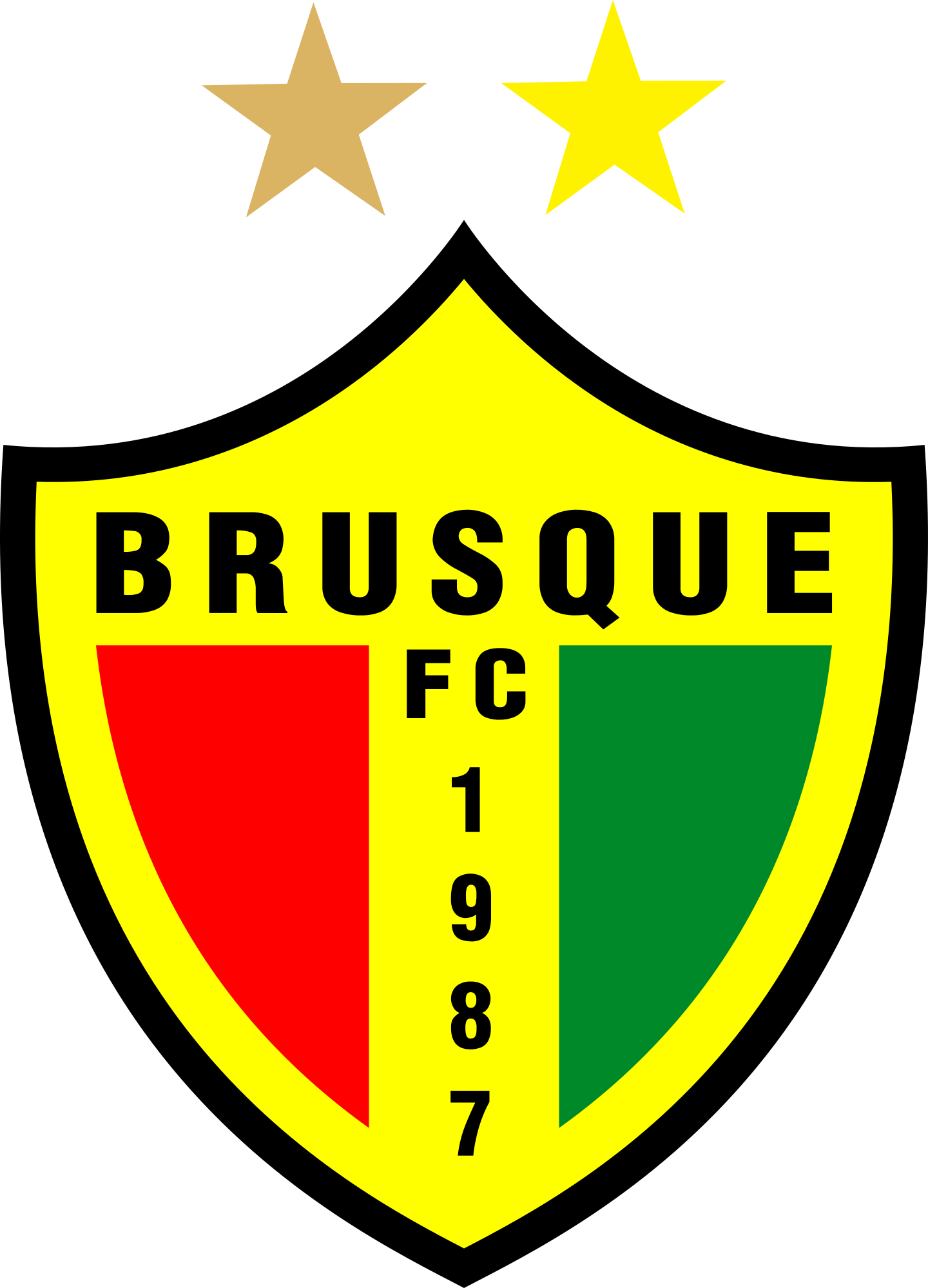 brusque fc logo 2 - Brusque FC Logo (Brazil)