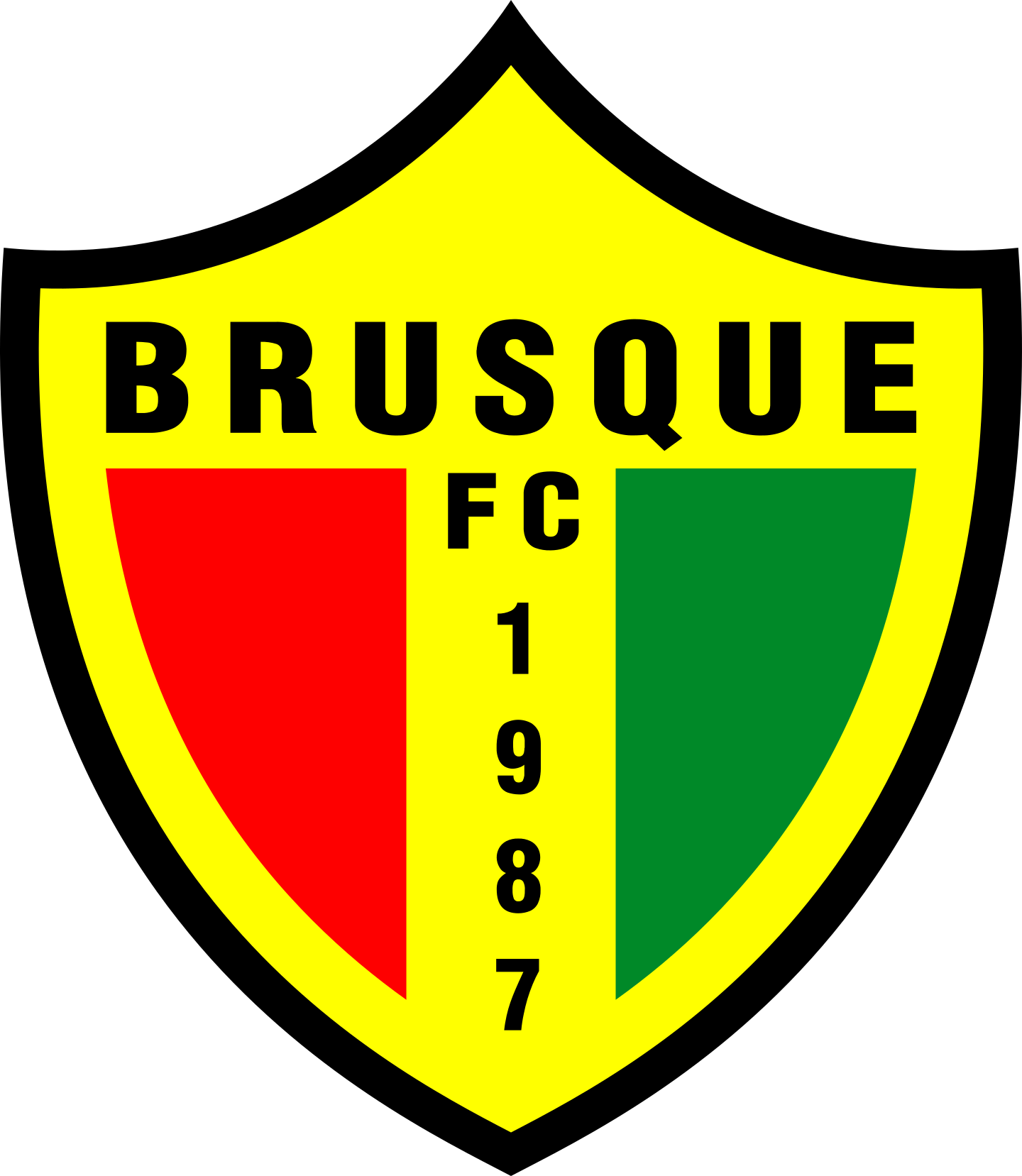 brusque fc logo 3 - Brusque FC Logo (Brazil)