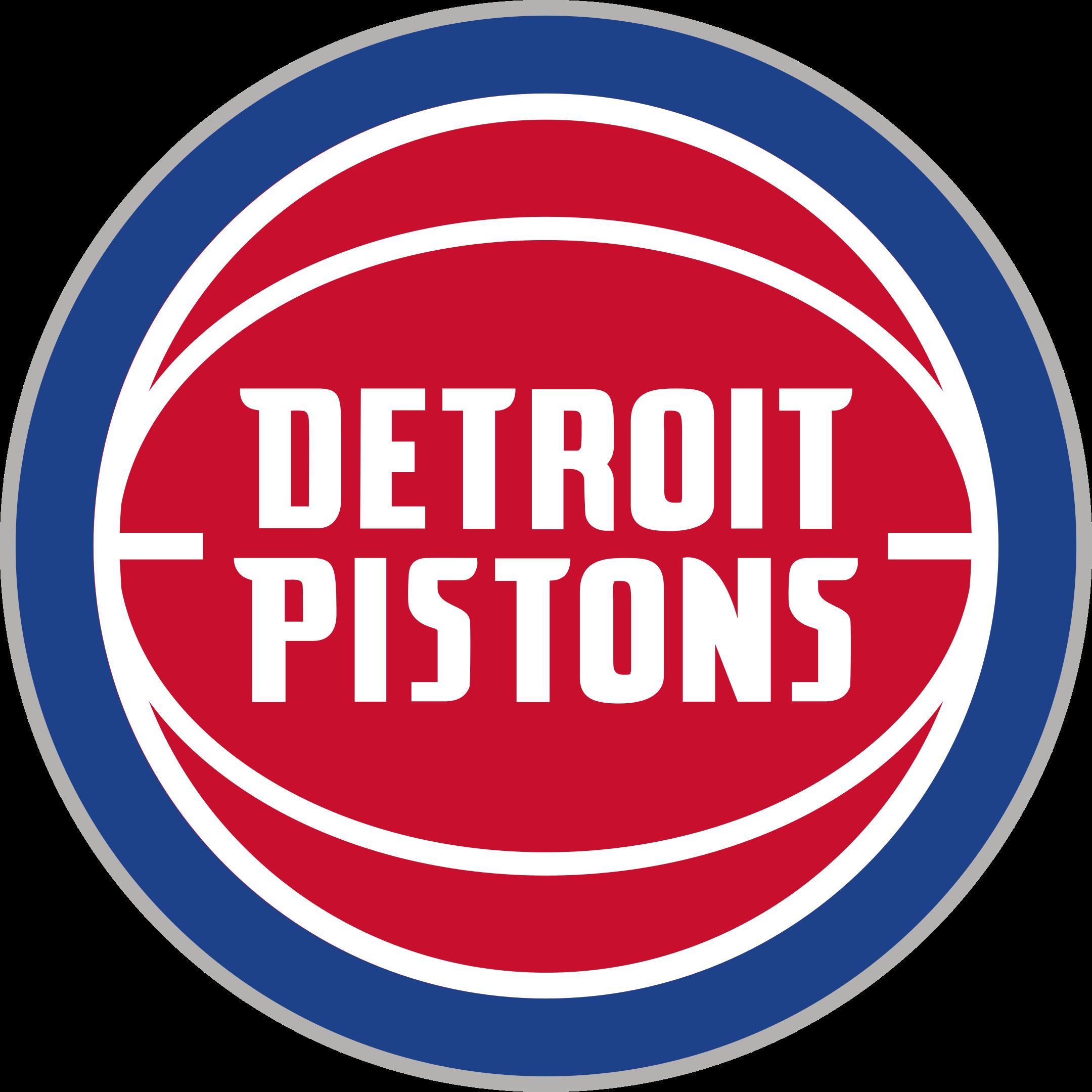 detroit pistons logo 1 - Detroit Pistons Logo