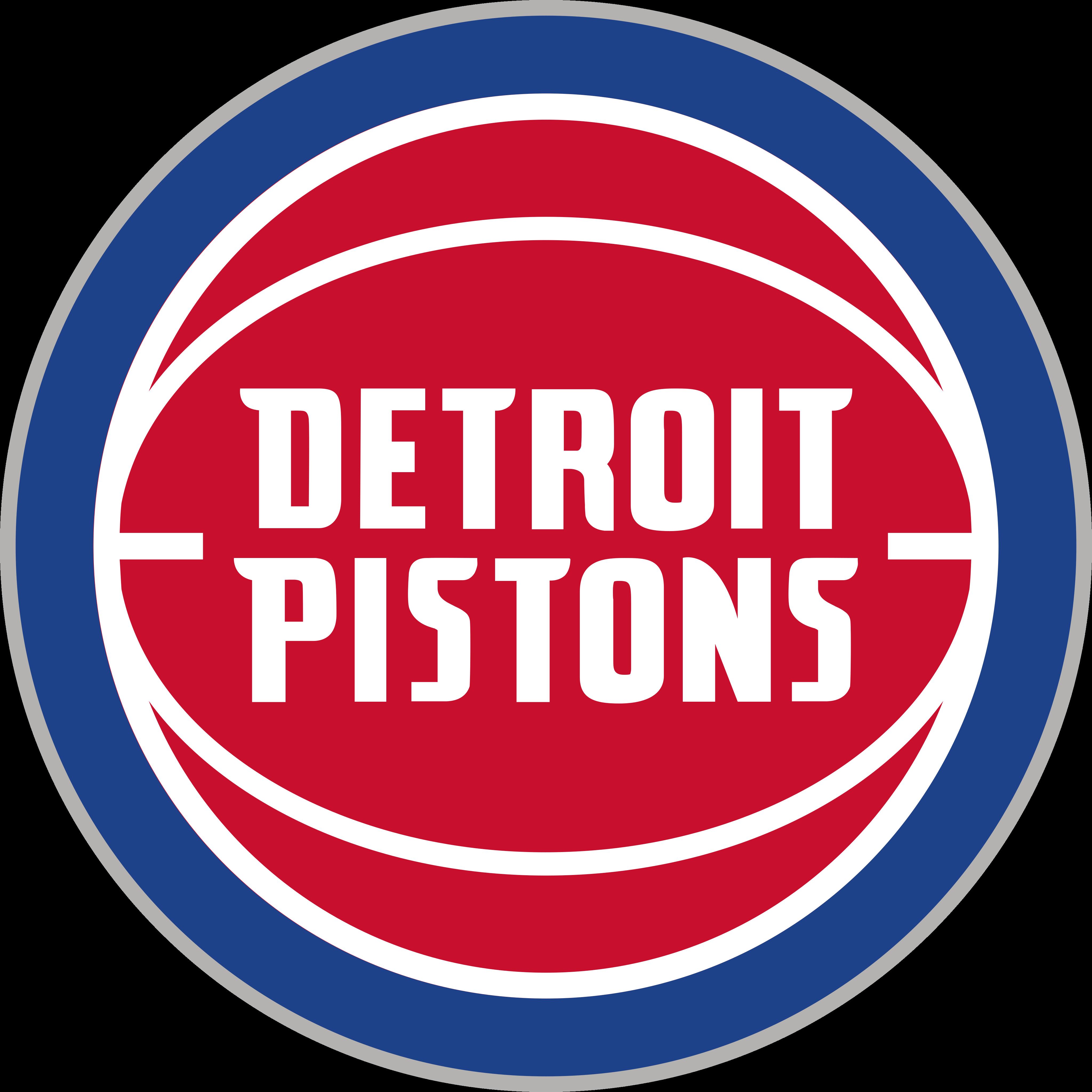 Detroit Pistons Logo.