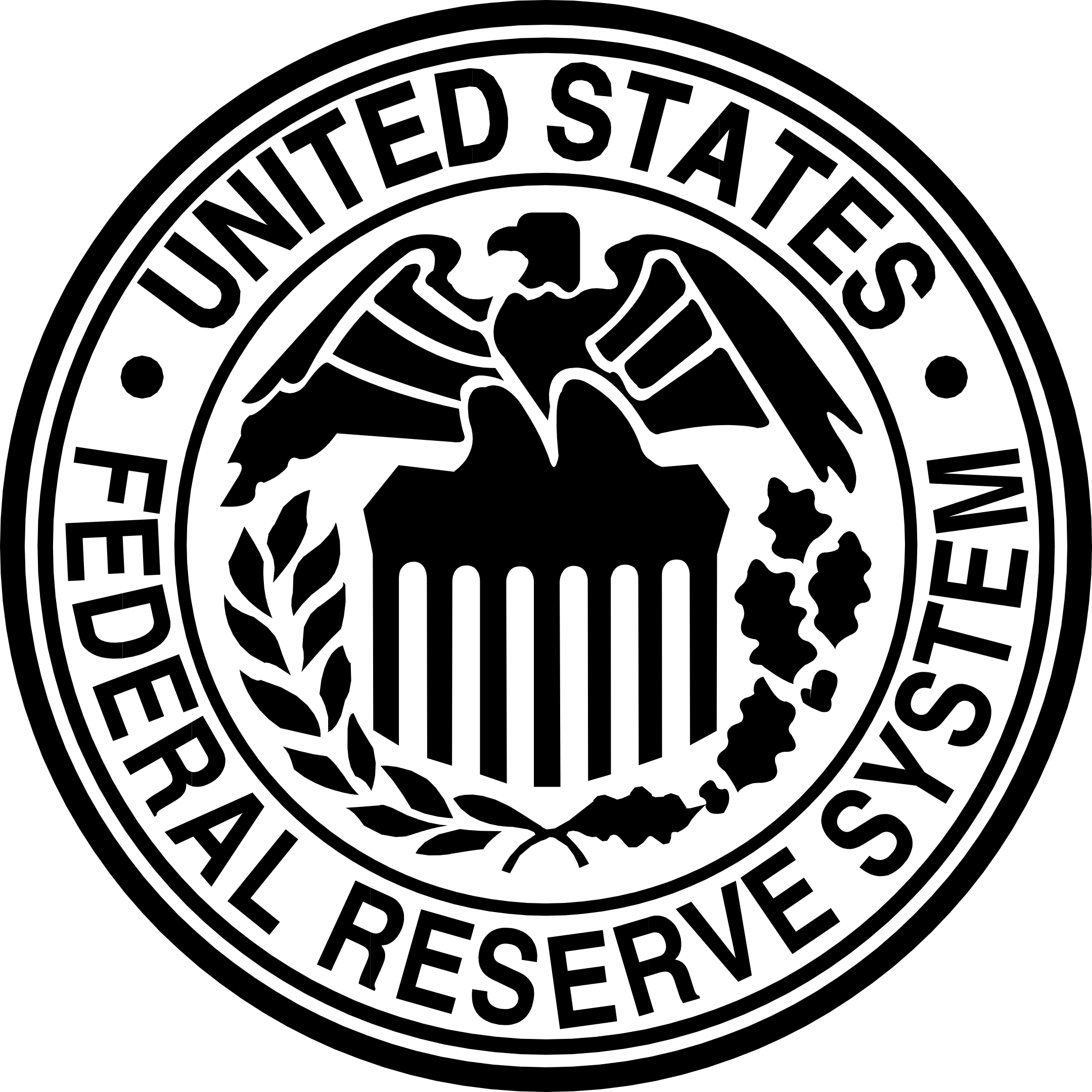 federal reserve logo fed 1 - Federal Reserve Logo - FED Logo