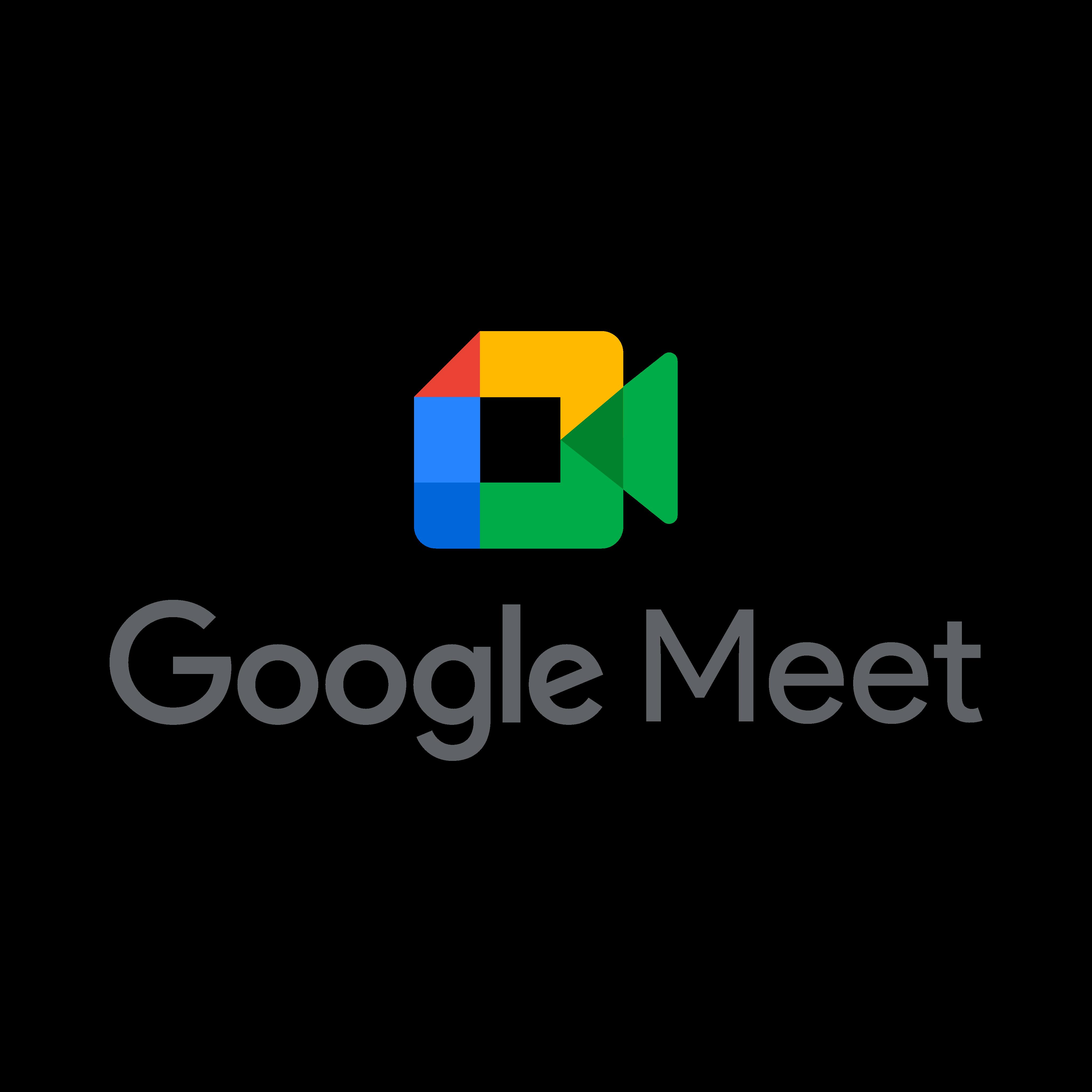 google meet logo 0 - Google Meet Logo