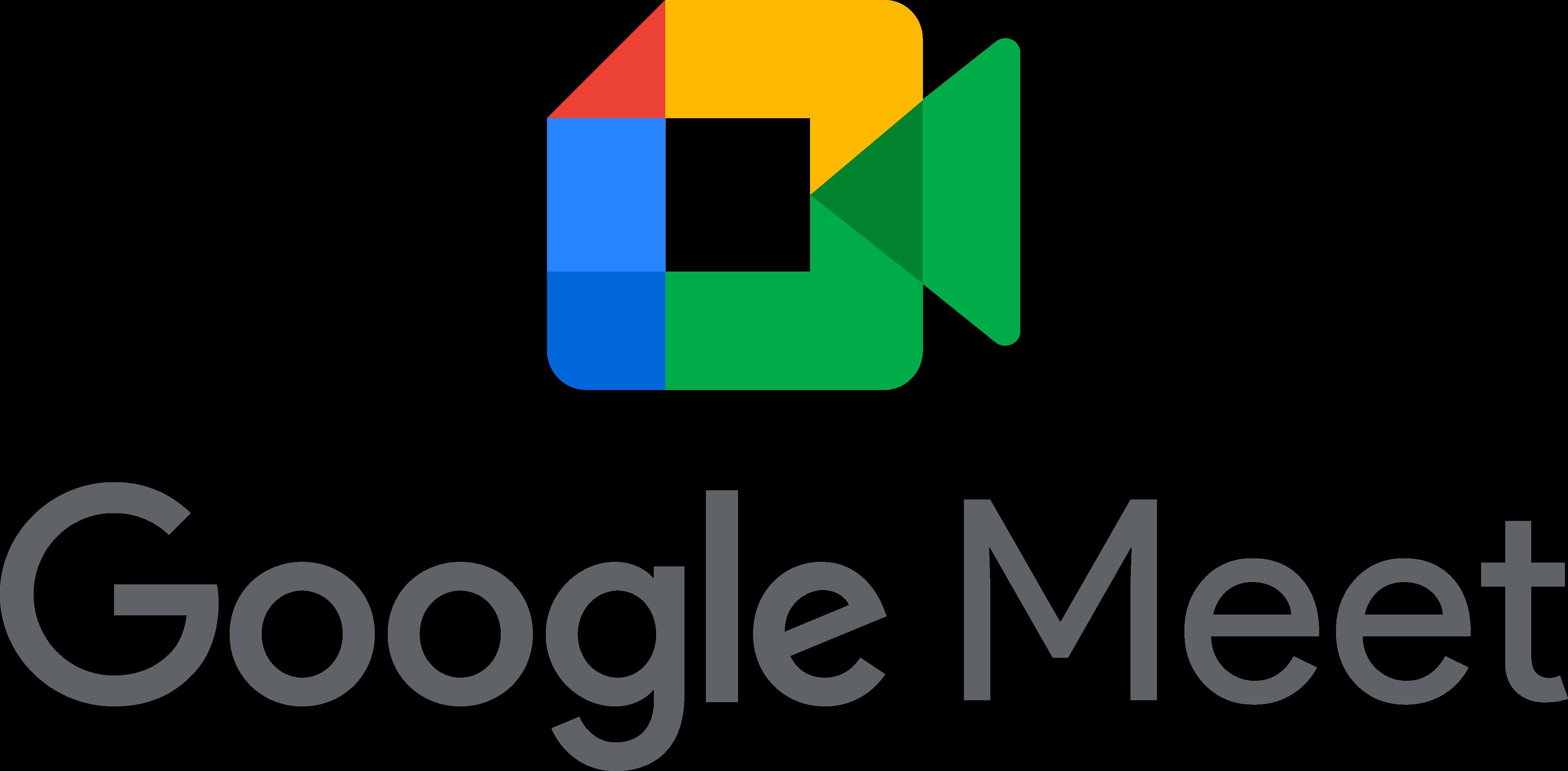 google meet logo 1 - Google Meet Logo