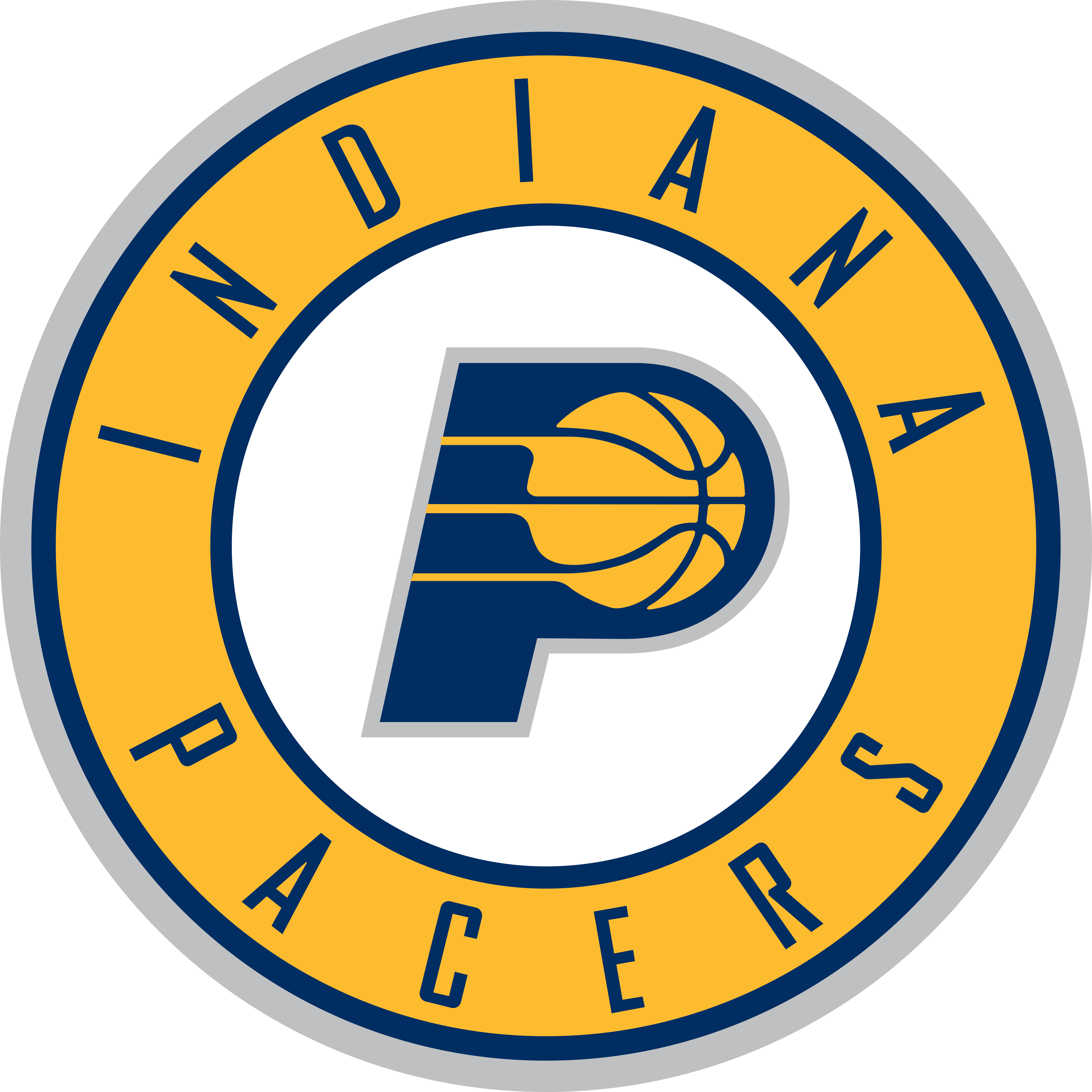 indiana pacers logo 1 - Indiana Pacers Logo