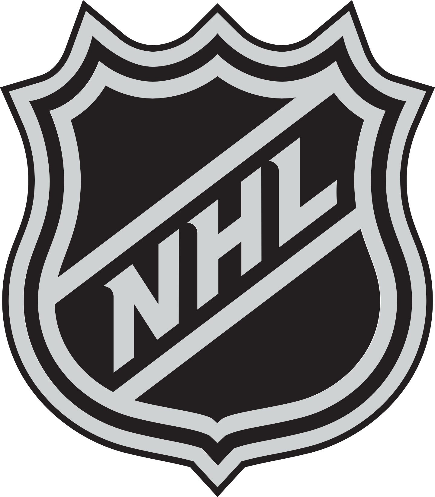 nhl logo 2 - NHL Logo - National Hockey League Logo