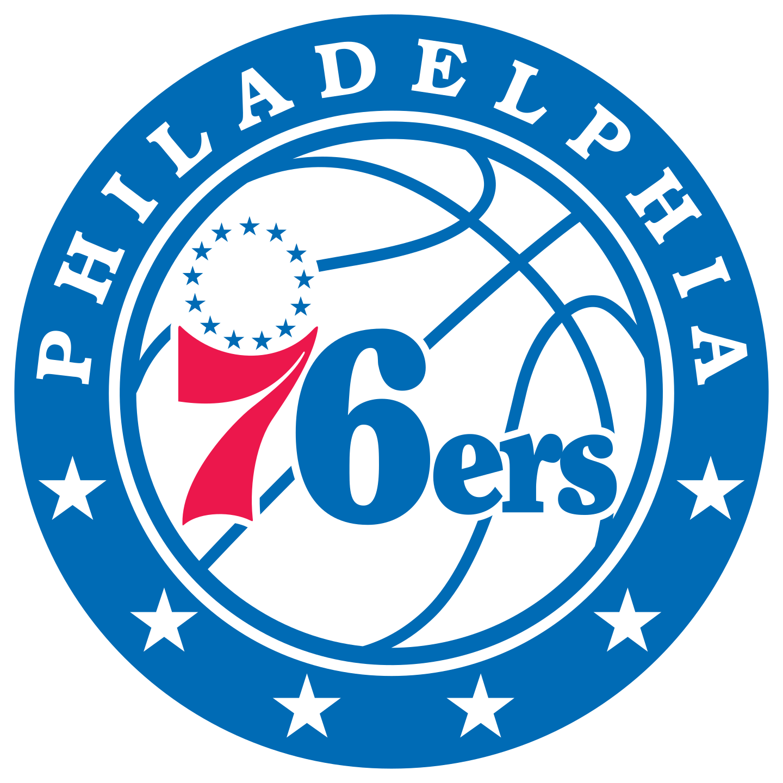 philadelphia 76ers logo 2 - Philadelphia 76ers Logo