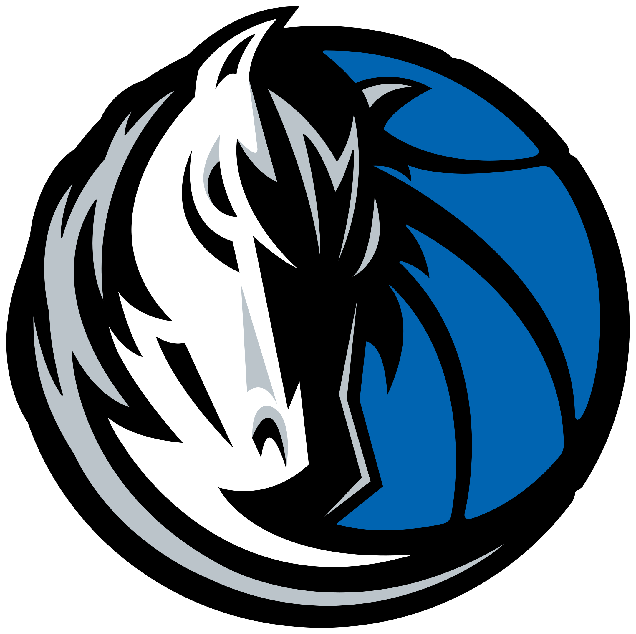 dallas mavericks logo 1 - Dallas Mavericks Logo
