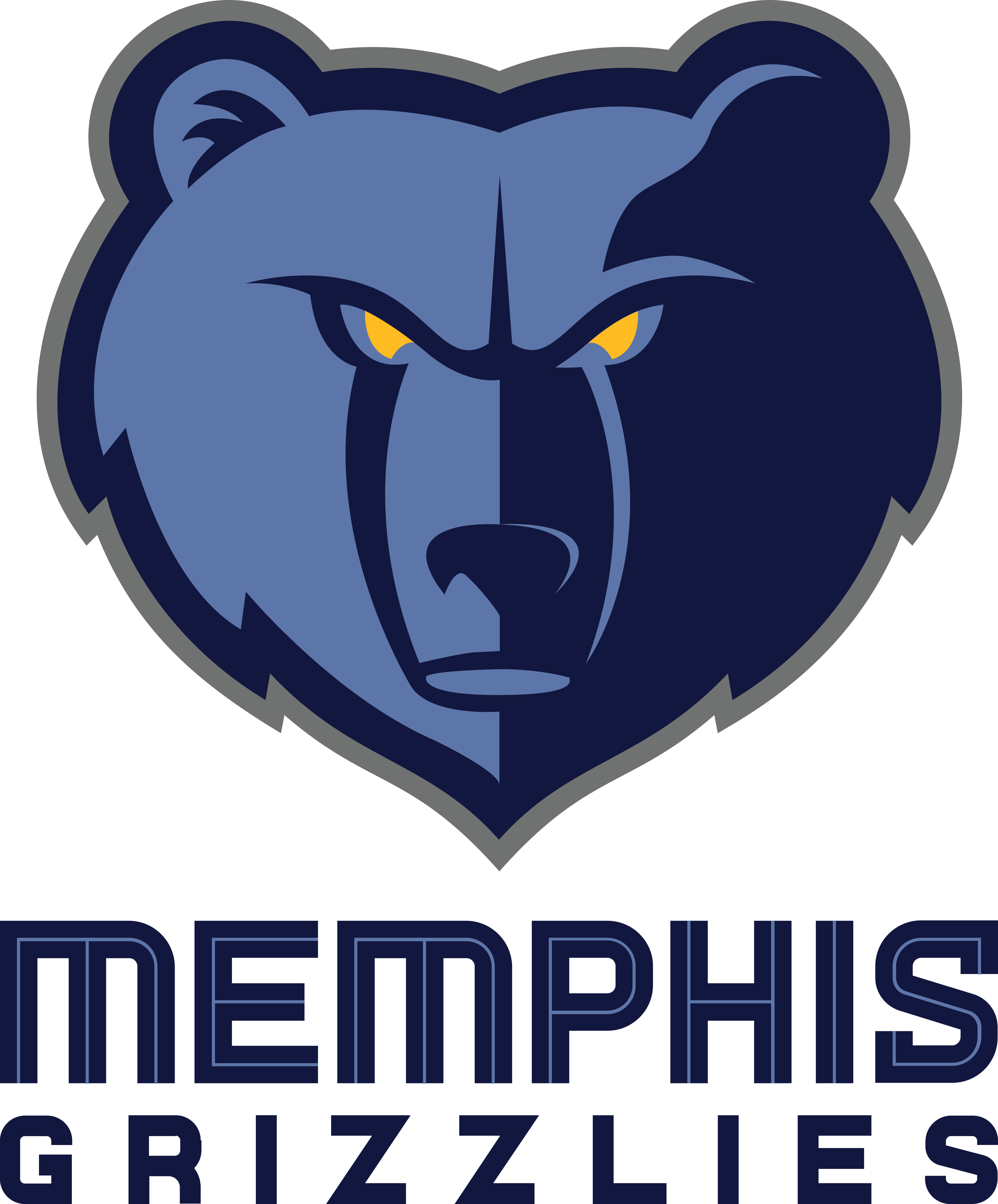 memphis grizzlies logo 1 - Memphis Grizzlies Logo