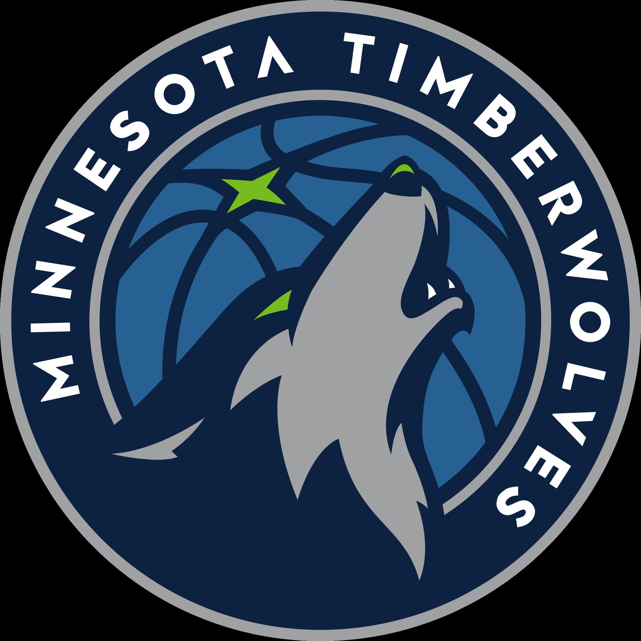 minnesota timberwolves logo 1 - Minnesota Timberwolves Logo
