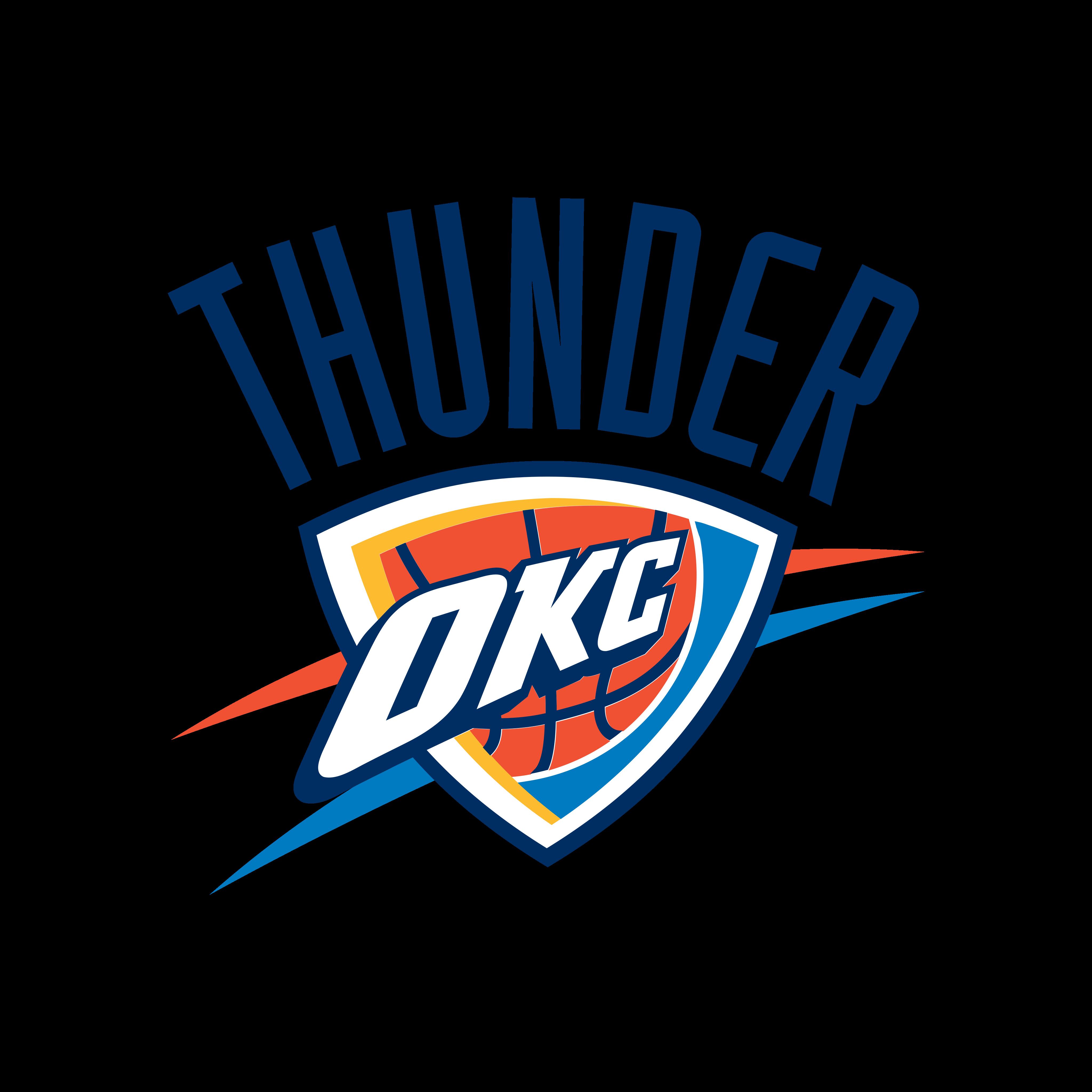 oklahoma city thunder logo 0 - Oklahoma City Thunder Logo