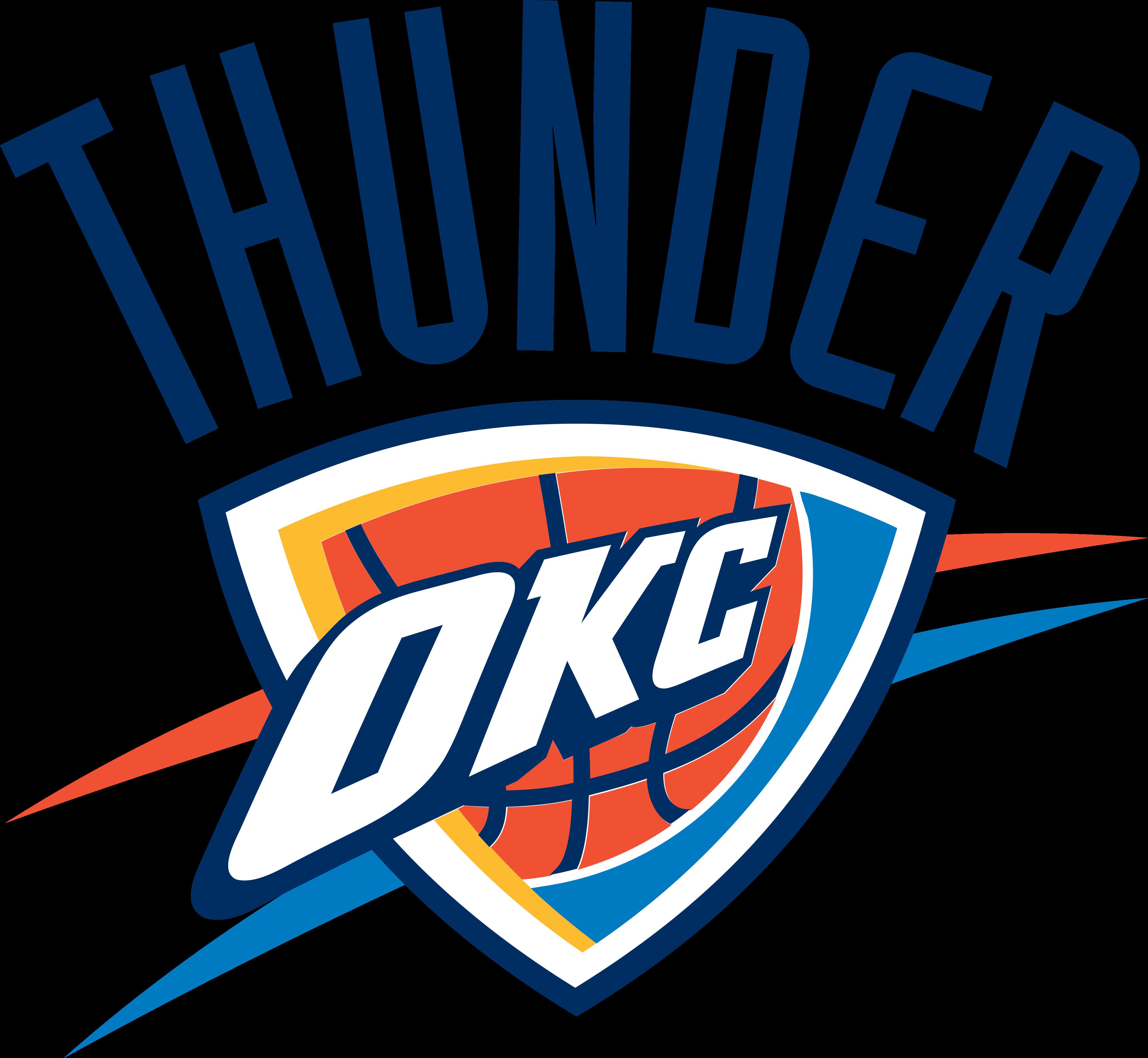 oklahoma city thunder logo 1 - Oklahoma City Thunder Logo