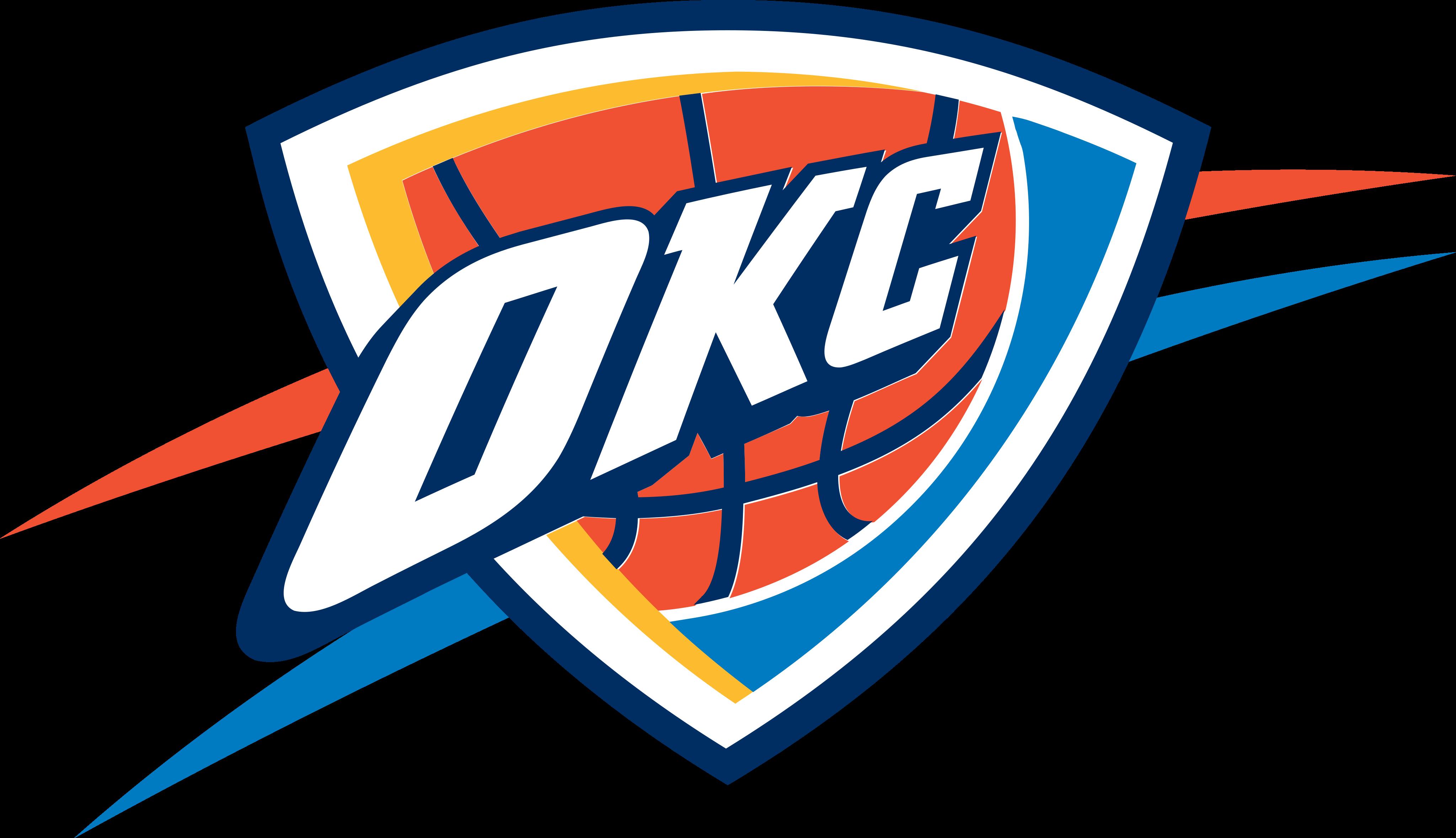 Oklahoma City Thunder Logo.