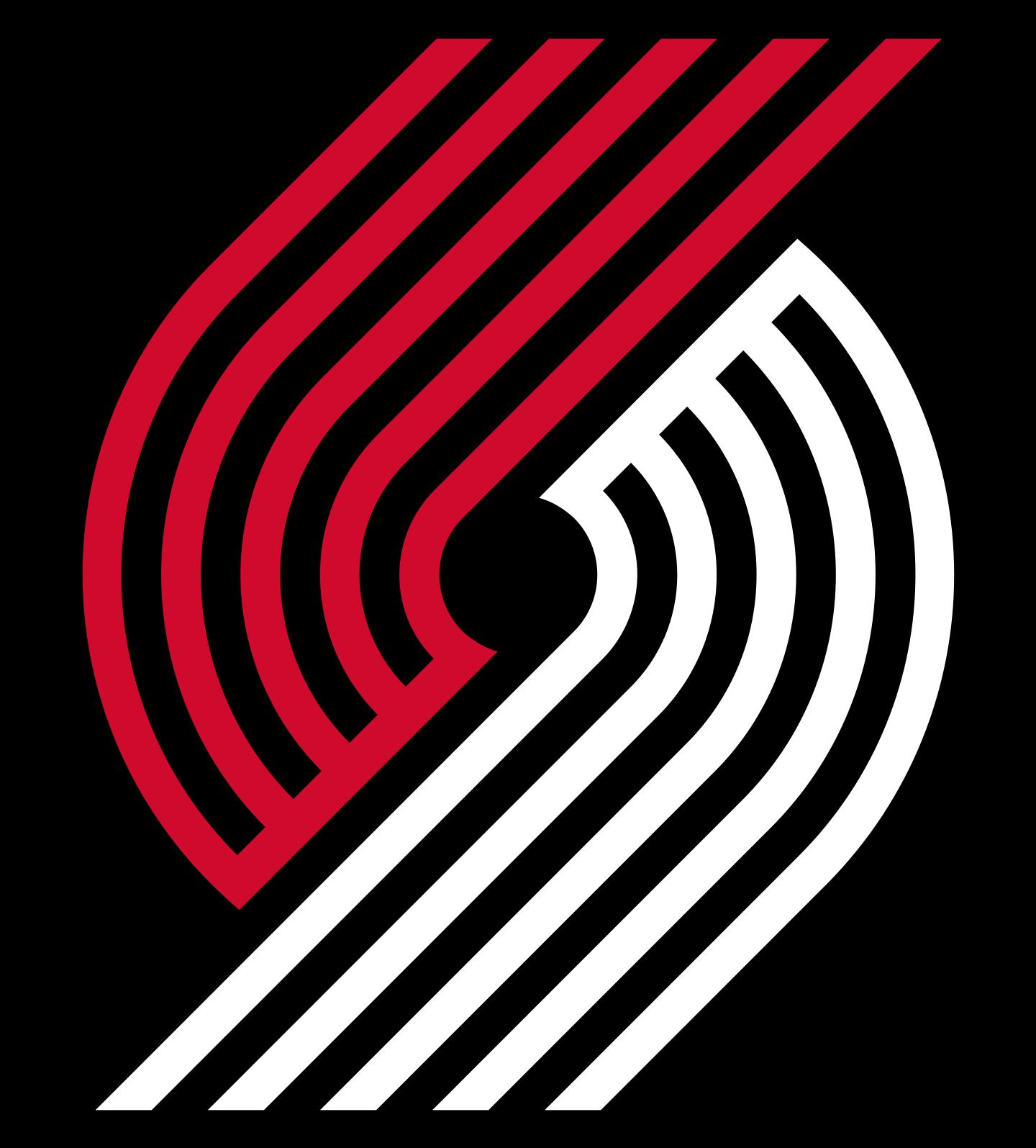 portland trail blazers logo 2 - Portland Trail Blazers Logo