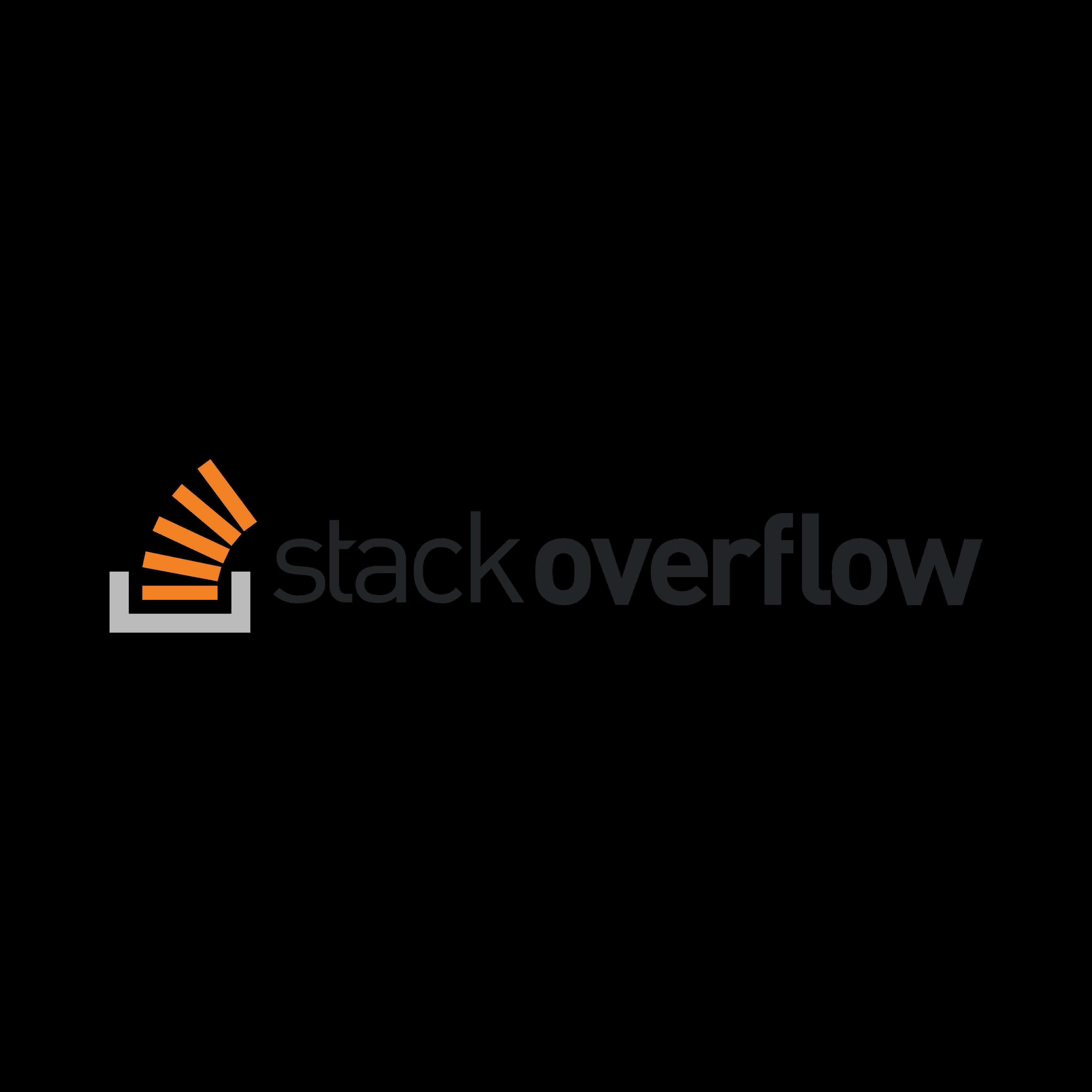stack overflow logo 0 - Stack Overflow Logo