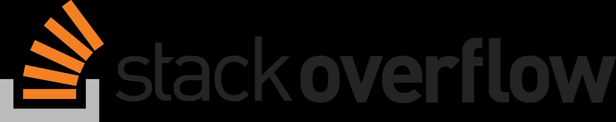 stack overflow logo 1 - Stack Overflow Logo