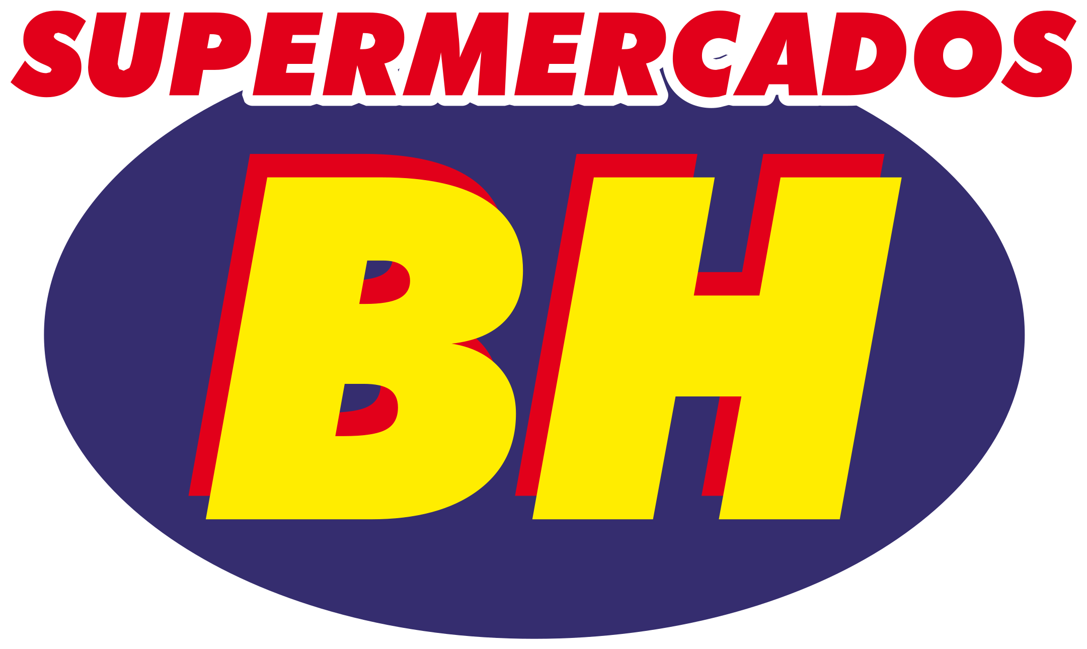 supermercados bh logo 1 - Supermercados BH Logo