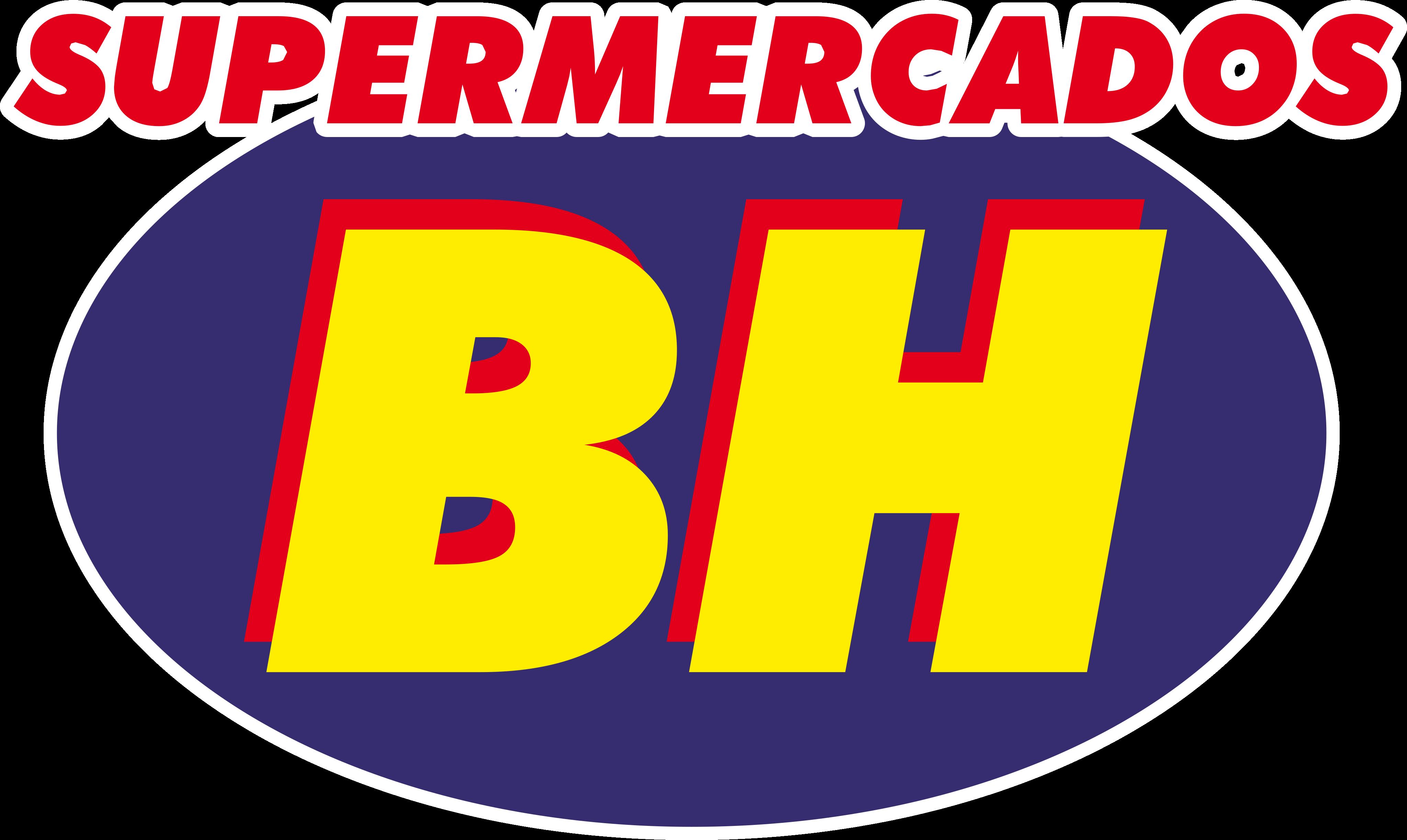 Supermercados BH Logo.