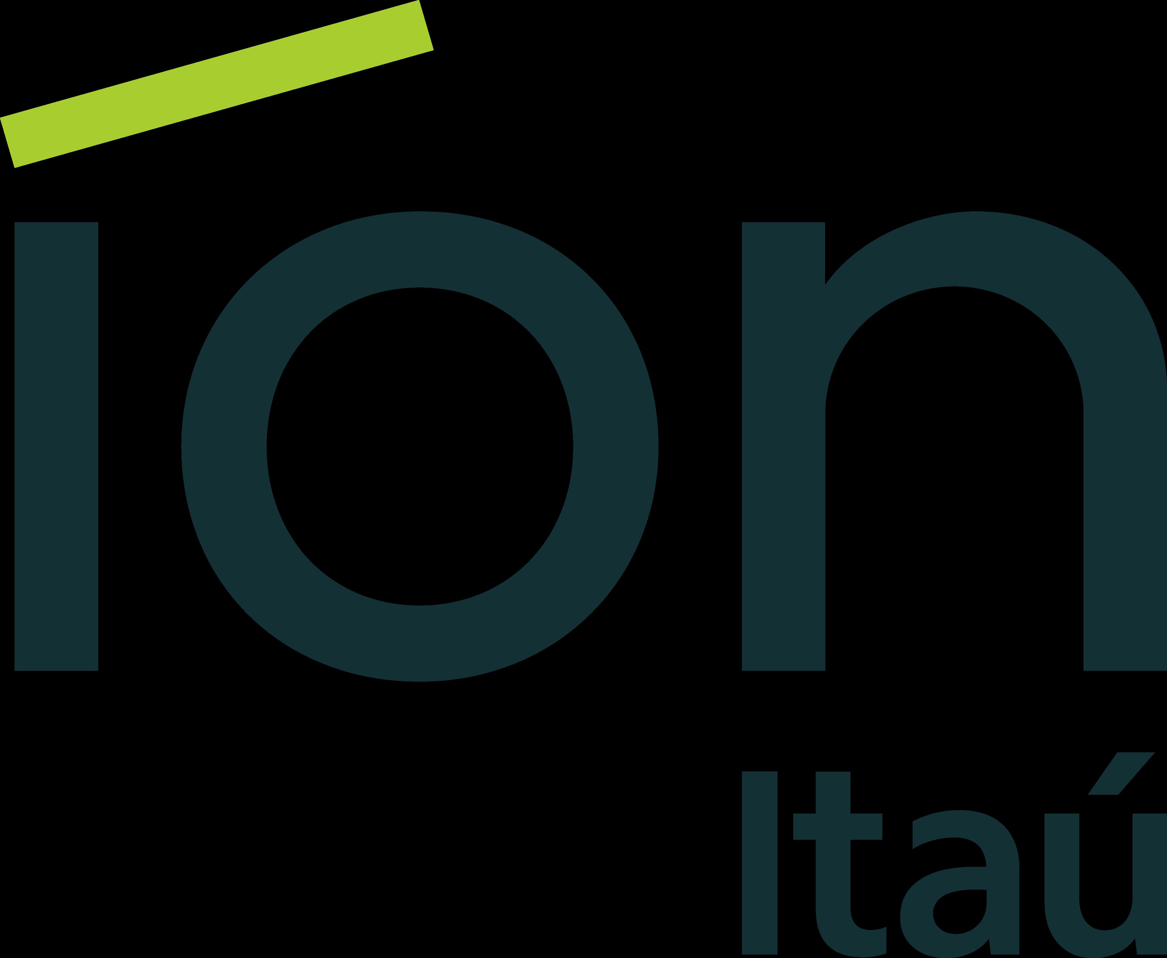 itau ion logo 1 - Itaú Íon Logo