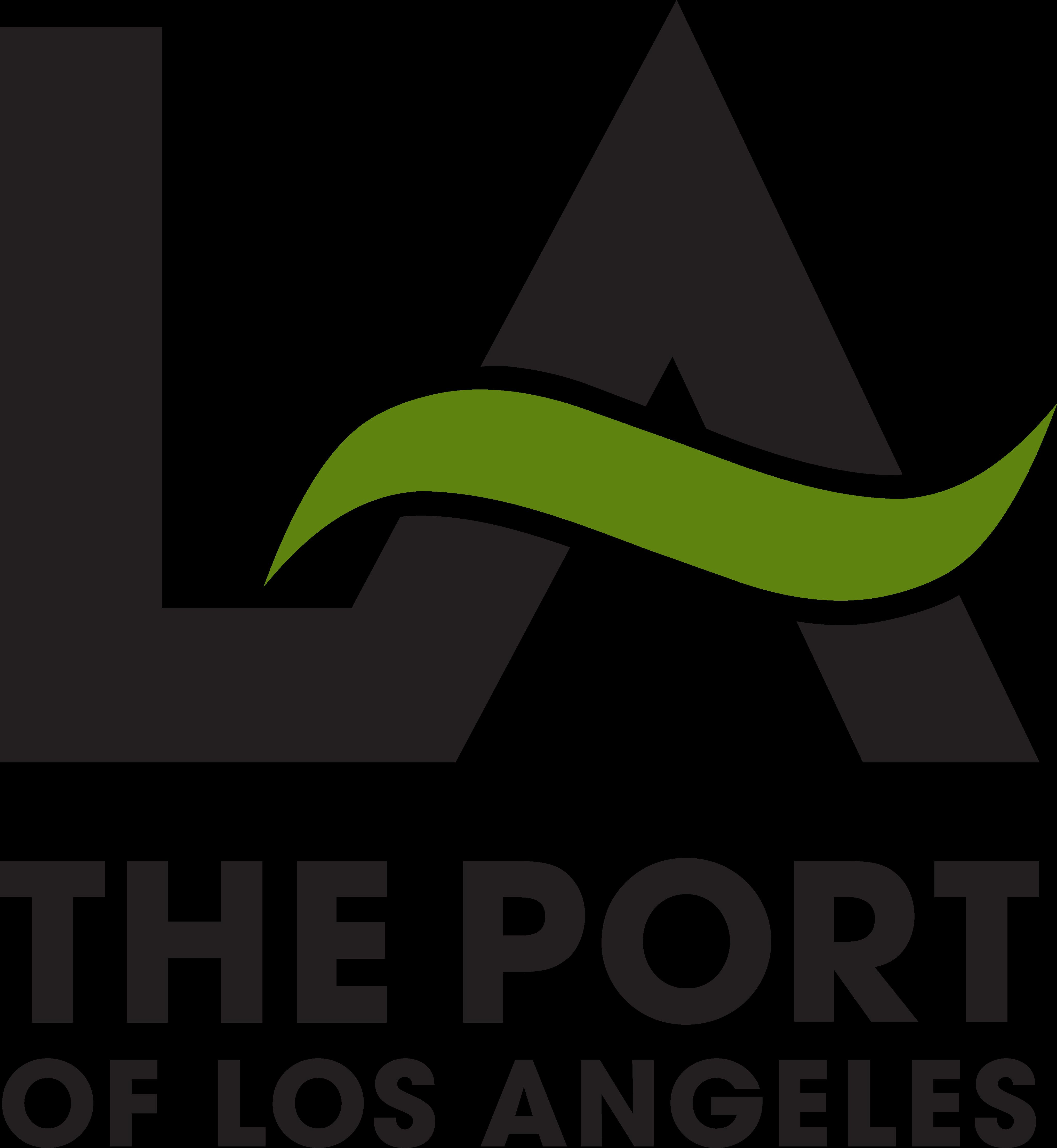 port of los angeles logo 1 - Port of Los Angeles Logo