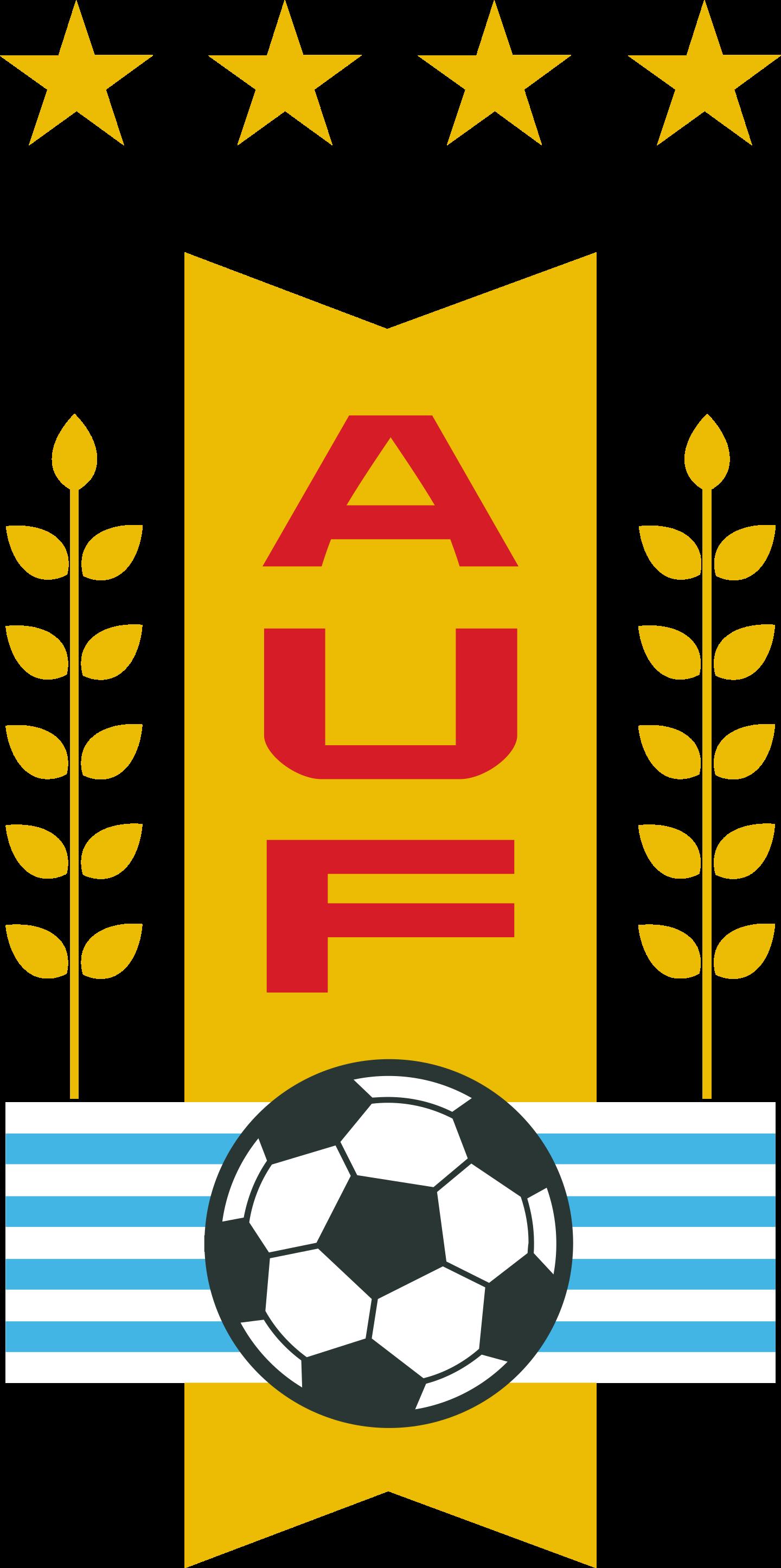 auf seleccion de futbol de uruguay logo 2 - AUF Logo - Selección de fútbol de Uruguay Logo