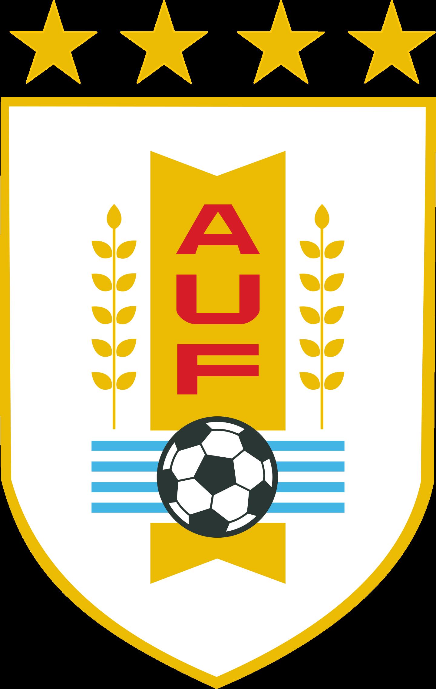 auf seleccion de futbol de uruguay logo 3 - AUF Logo - Selección de fútbol de Uruguay Logo