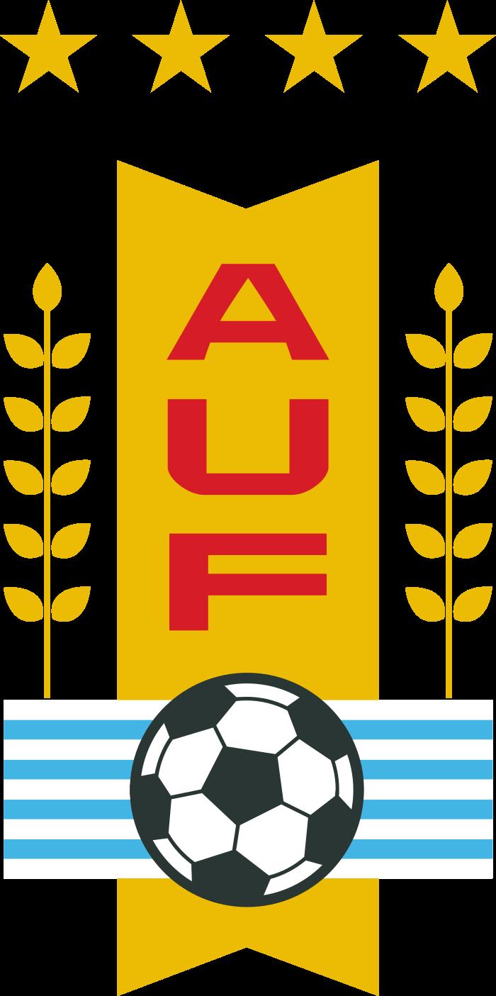 auf seleccion de futbol de uruguay logo 4 - AUF Logo - Selección de fútbol de Uruguay Logo